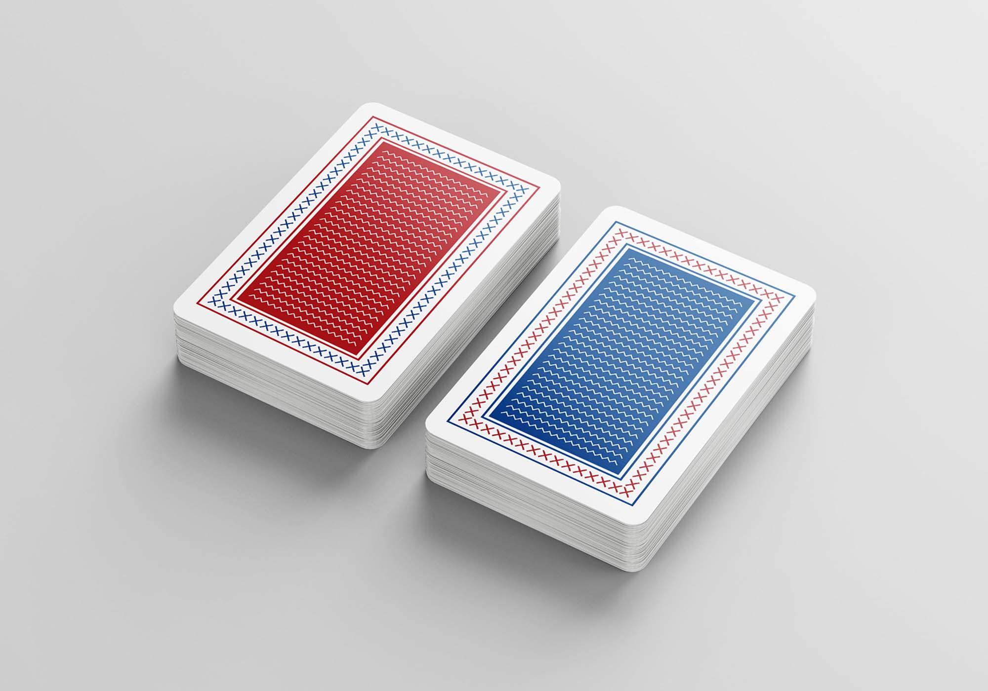Playing Cards Mockup 1