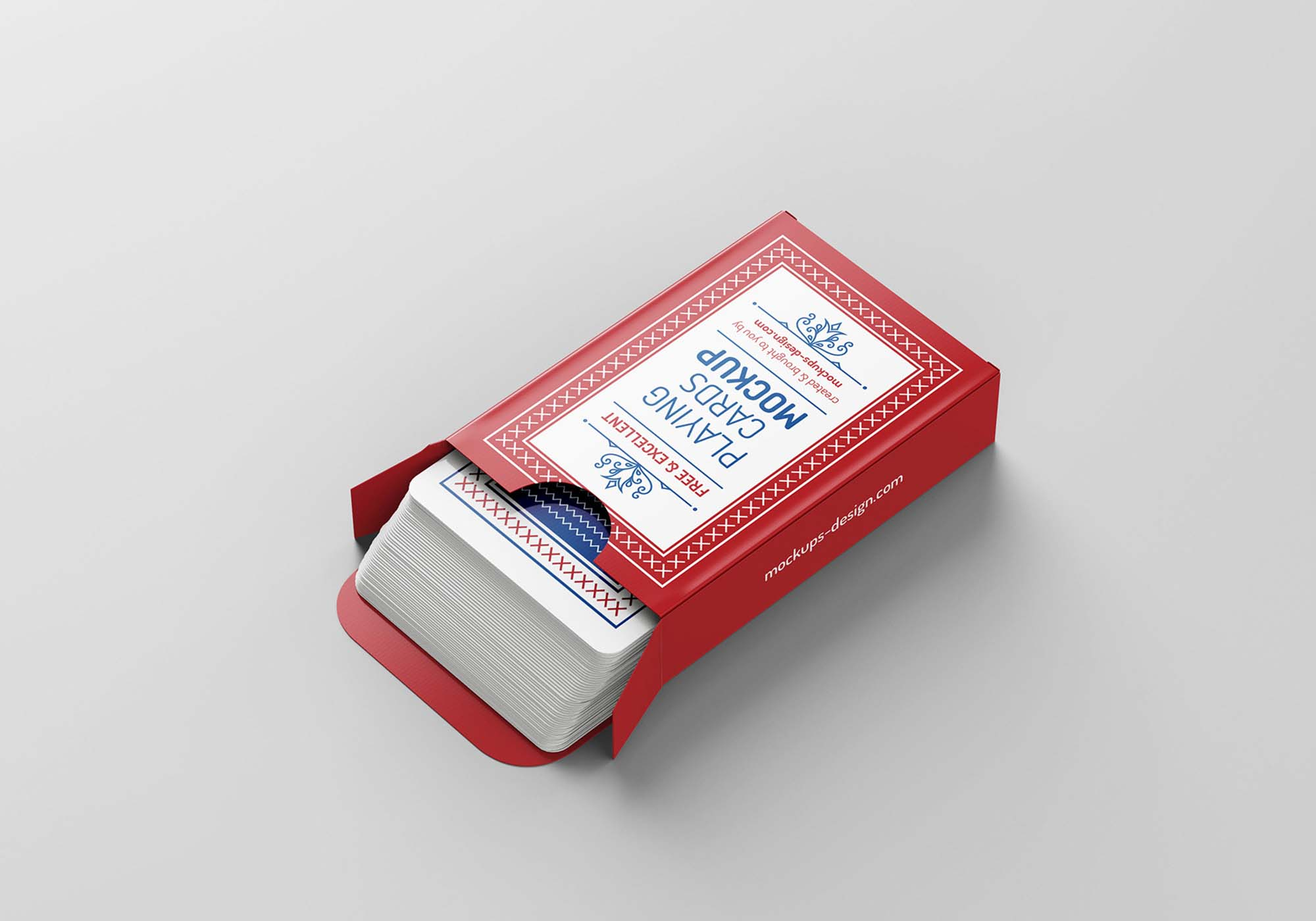 Playing Cards Mockup 3