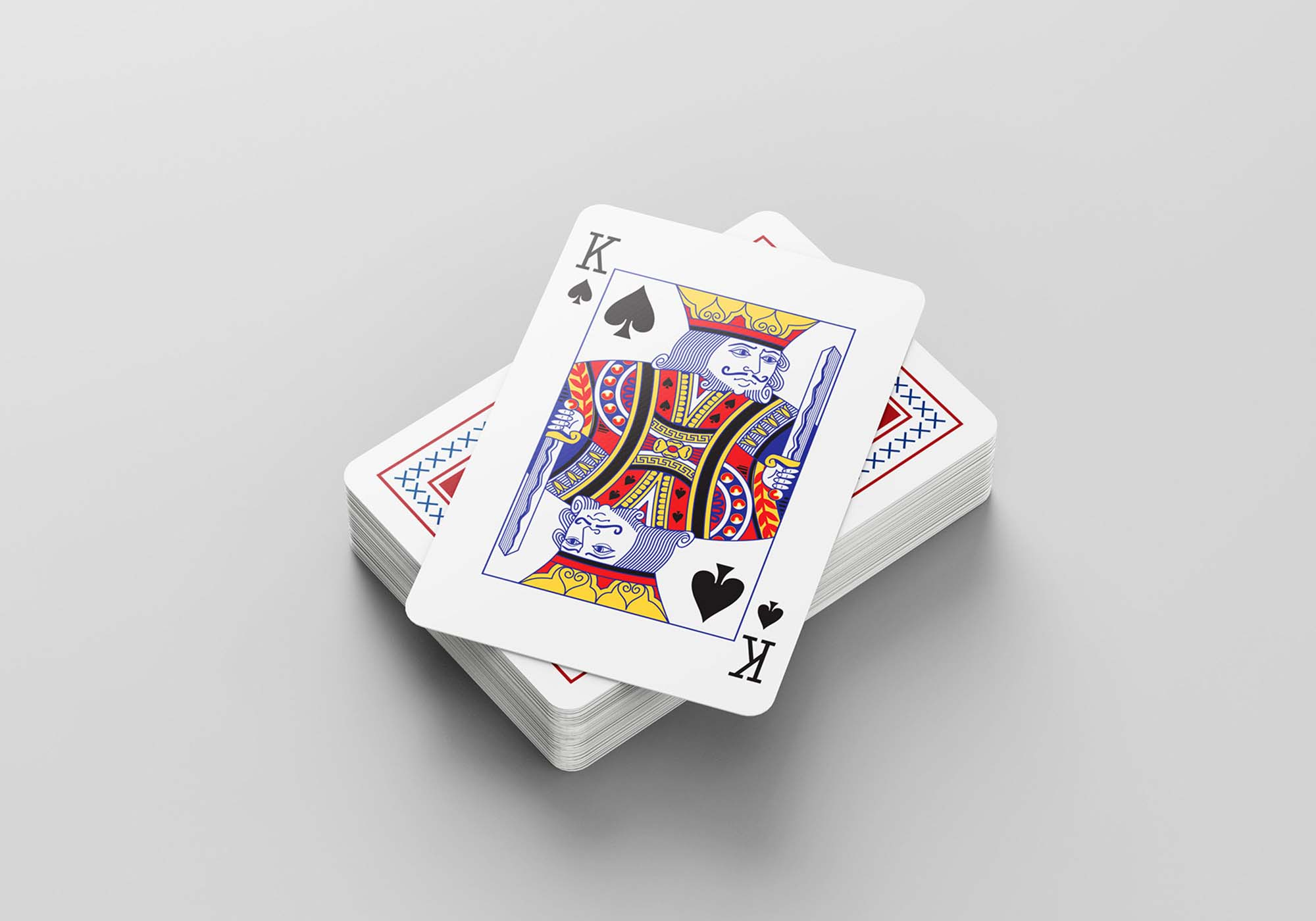 Playing Cards Mockup 4