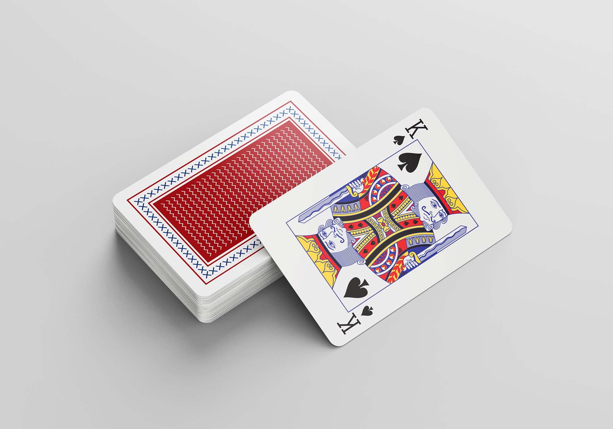 Playing Cards Mockup 5