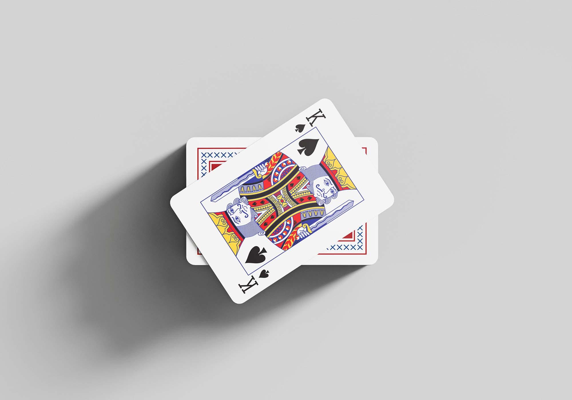 Playing Cards Mockup 7