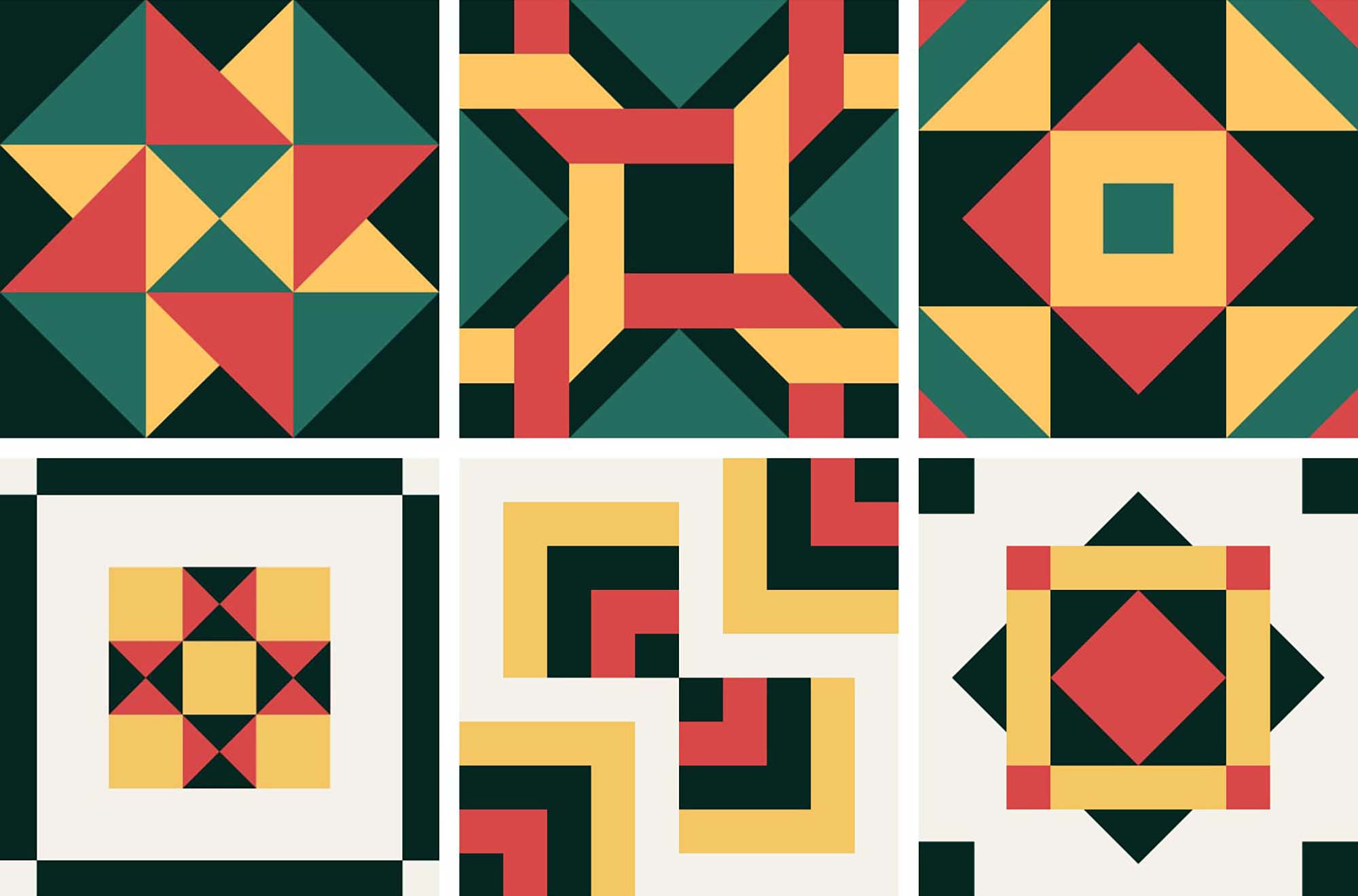 Portuguese Geometric Patterns 2