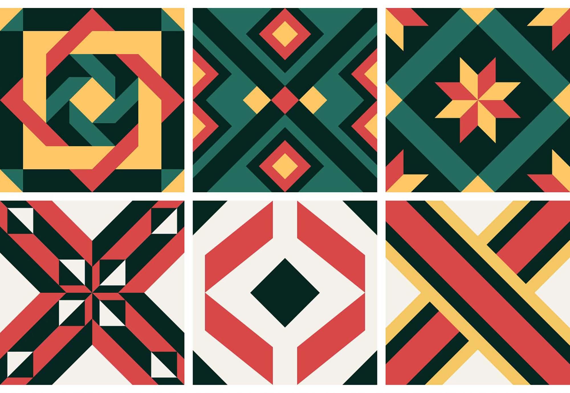 Portuguese Geometric Patterns 3