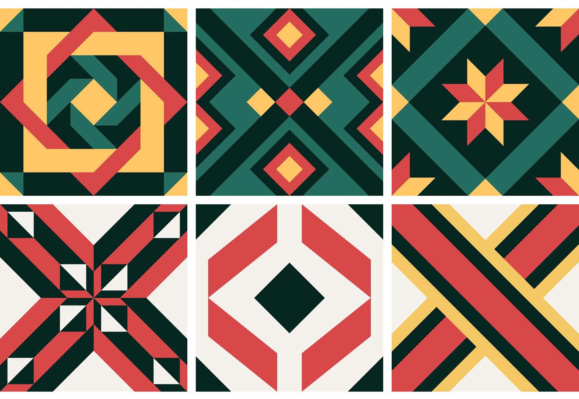 Portuguese Geometric Patterns 4