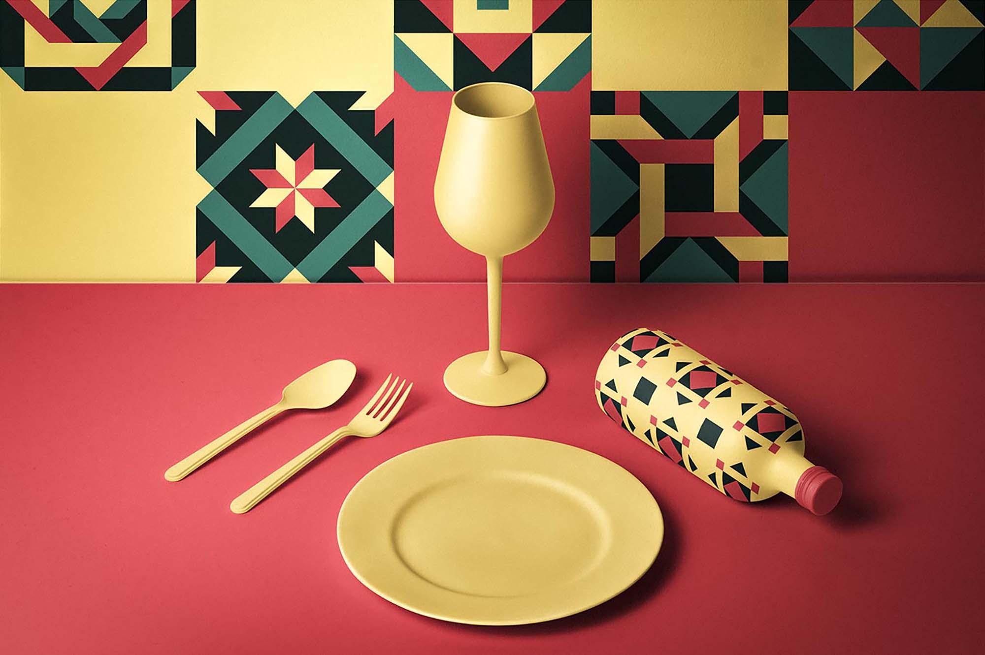 Portuguese Geometric Patterns 6