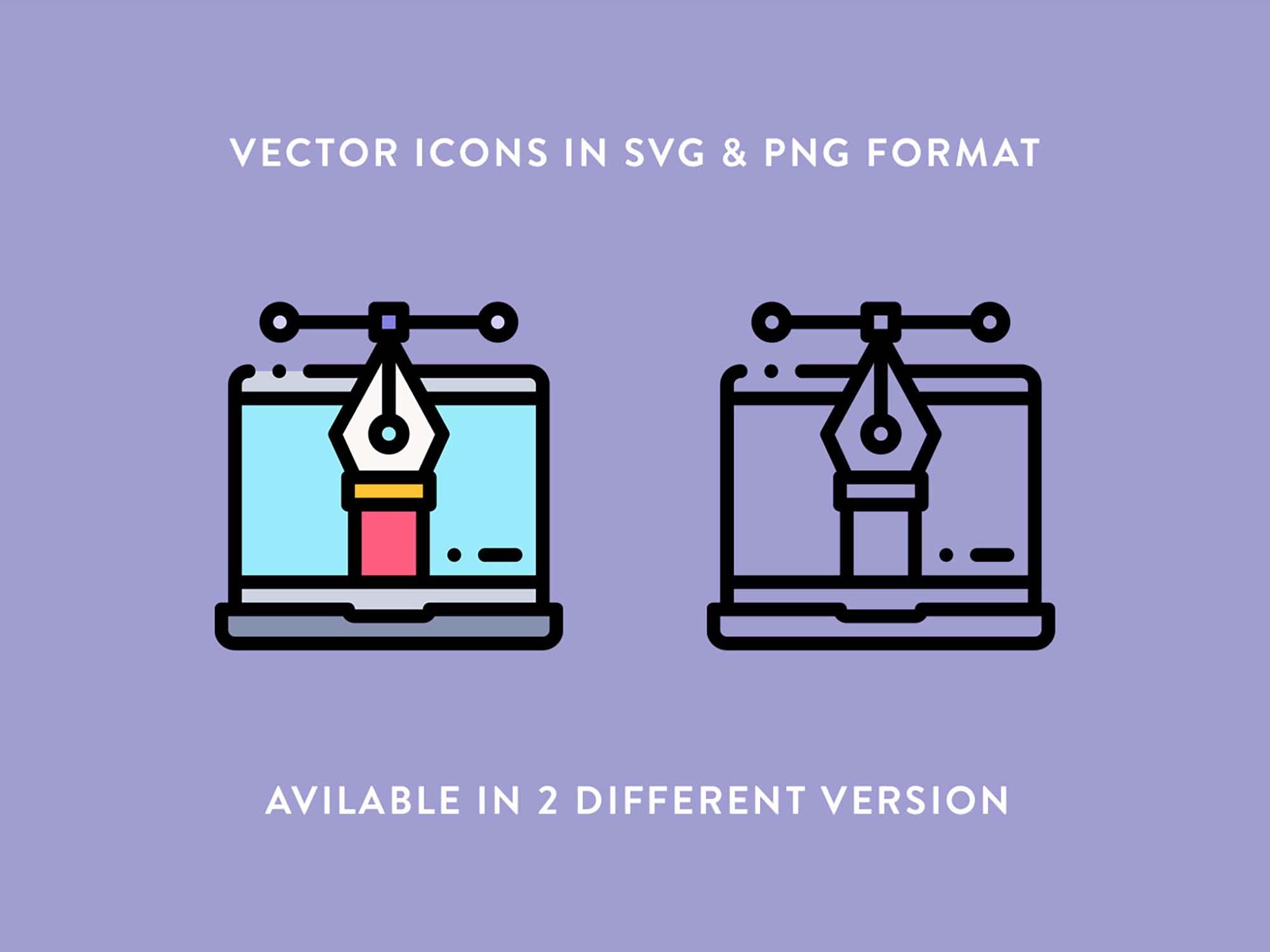 Responsive Design Vector Icons 3