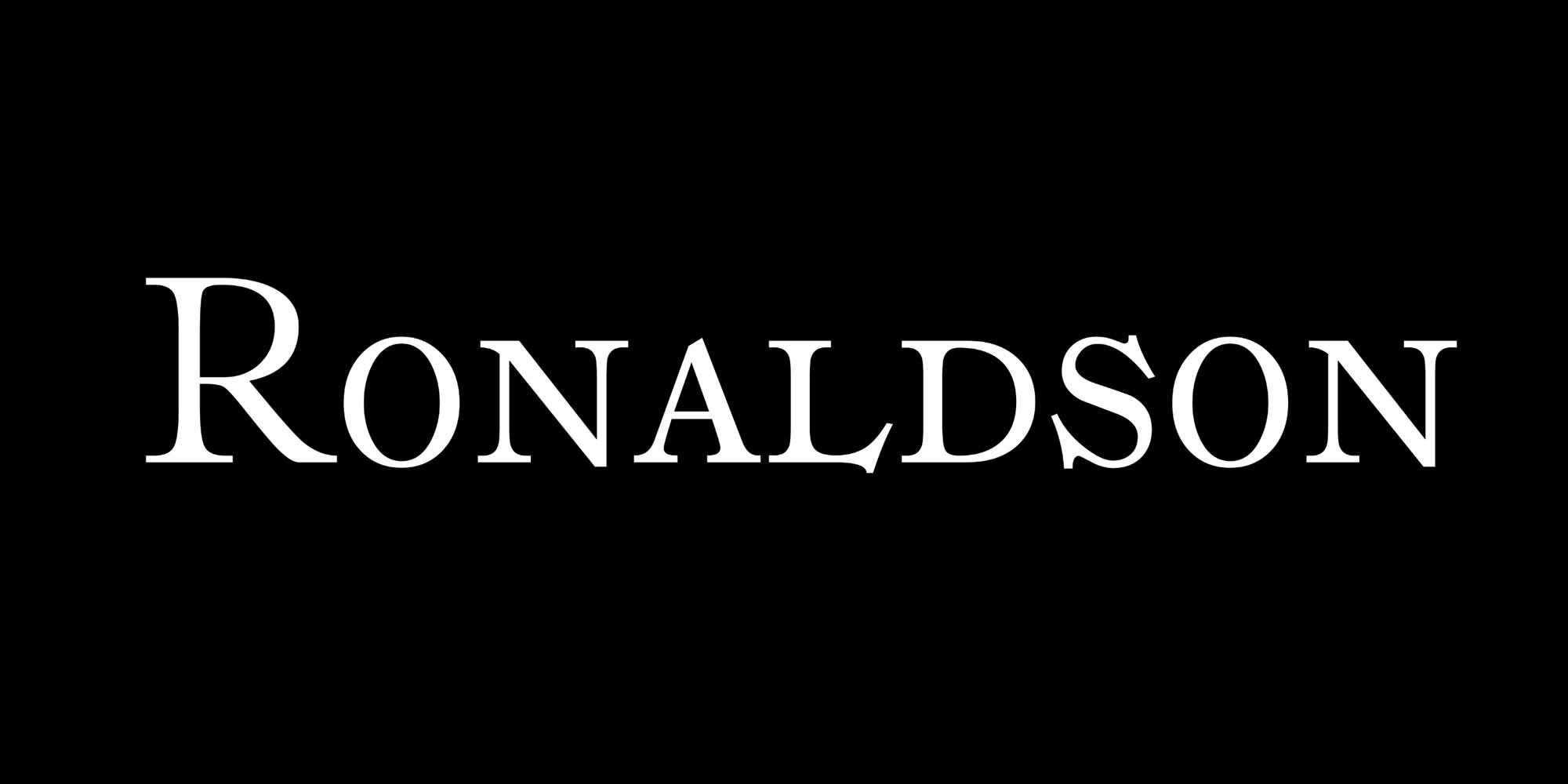 Ronaldson Font