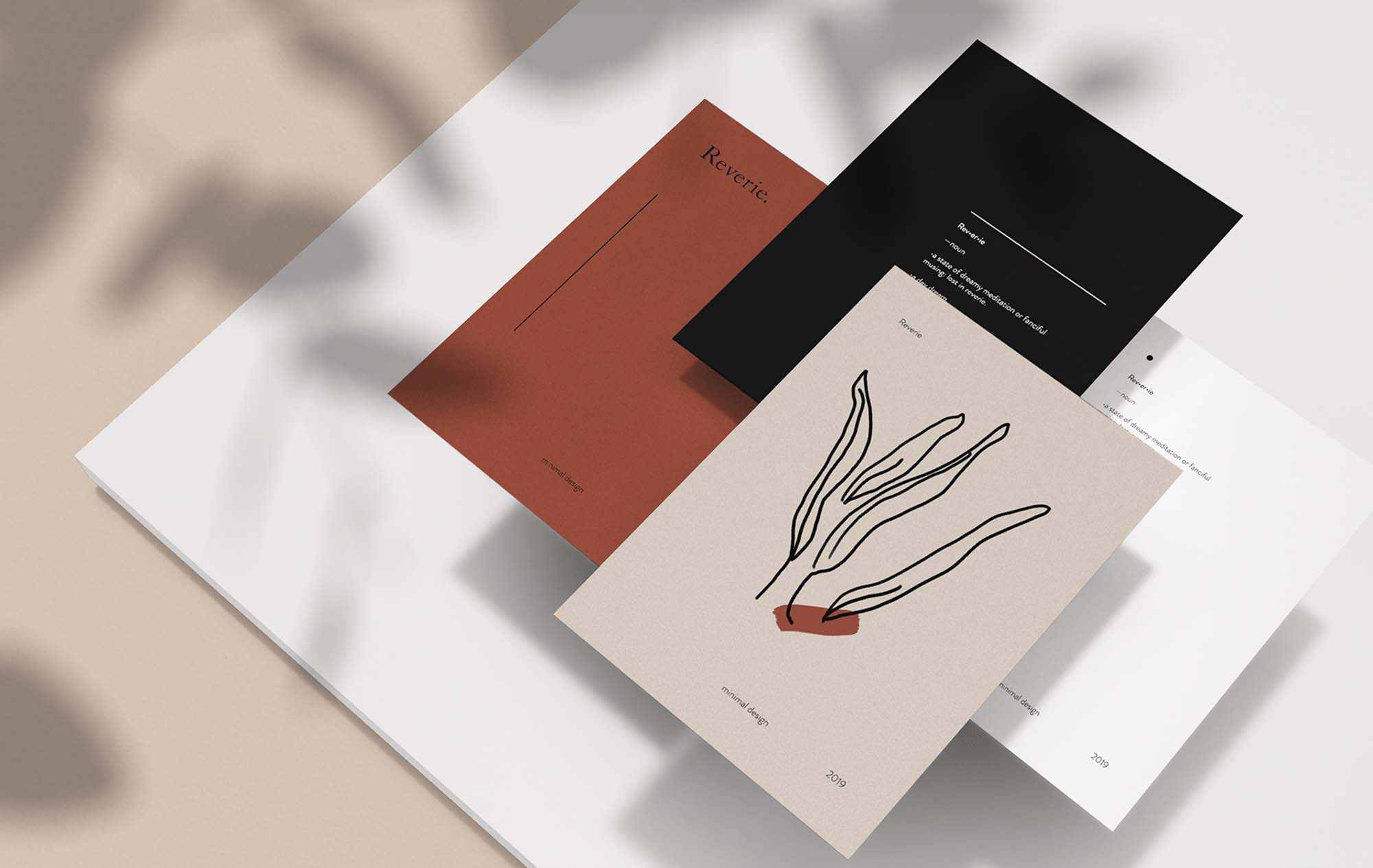 Basic Stationery Mockup