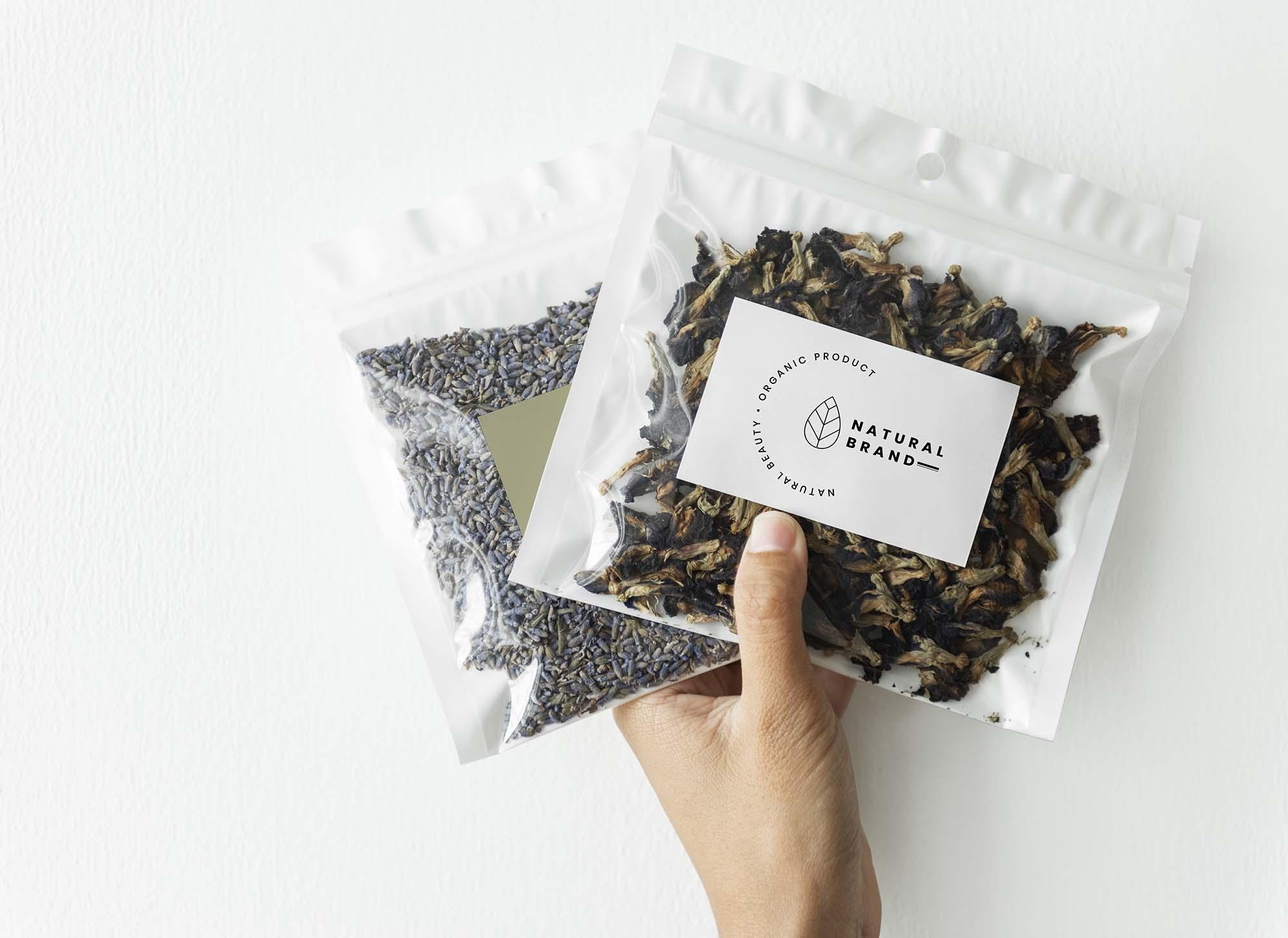 Tea Branding Package Mockup