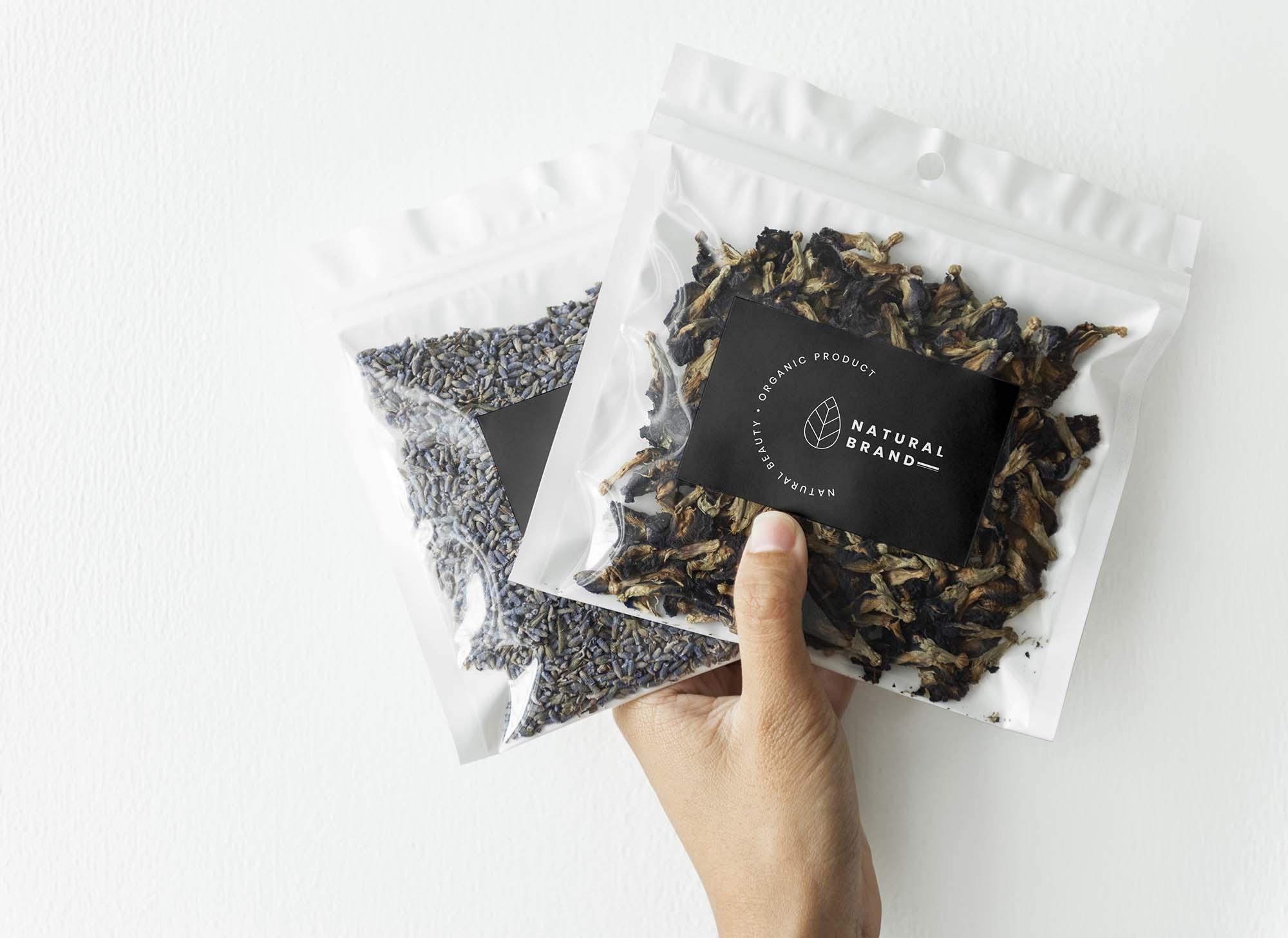 Tea Branding Package Mockup 2
