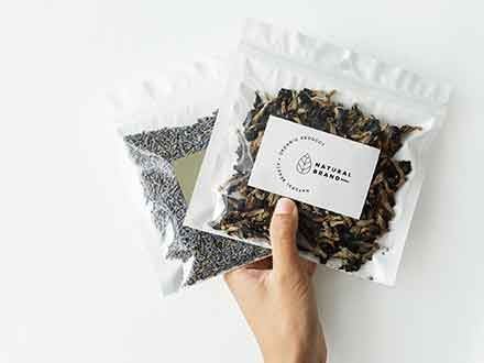Tea Branding Package Mockup