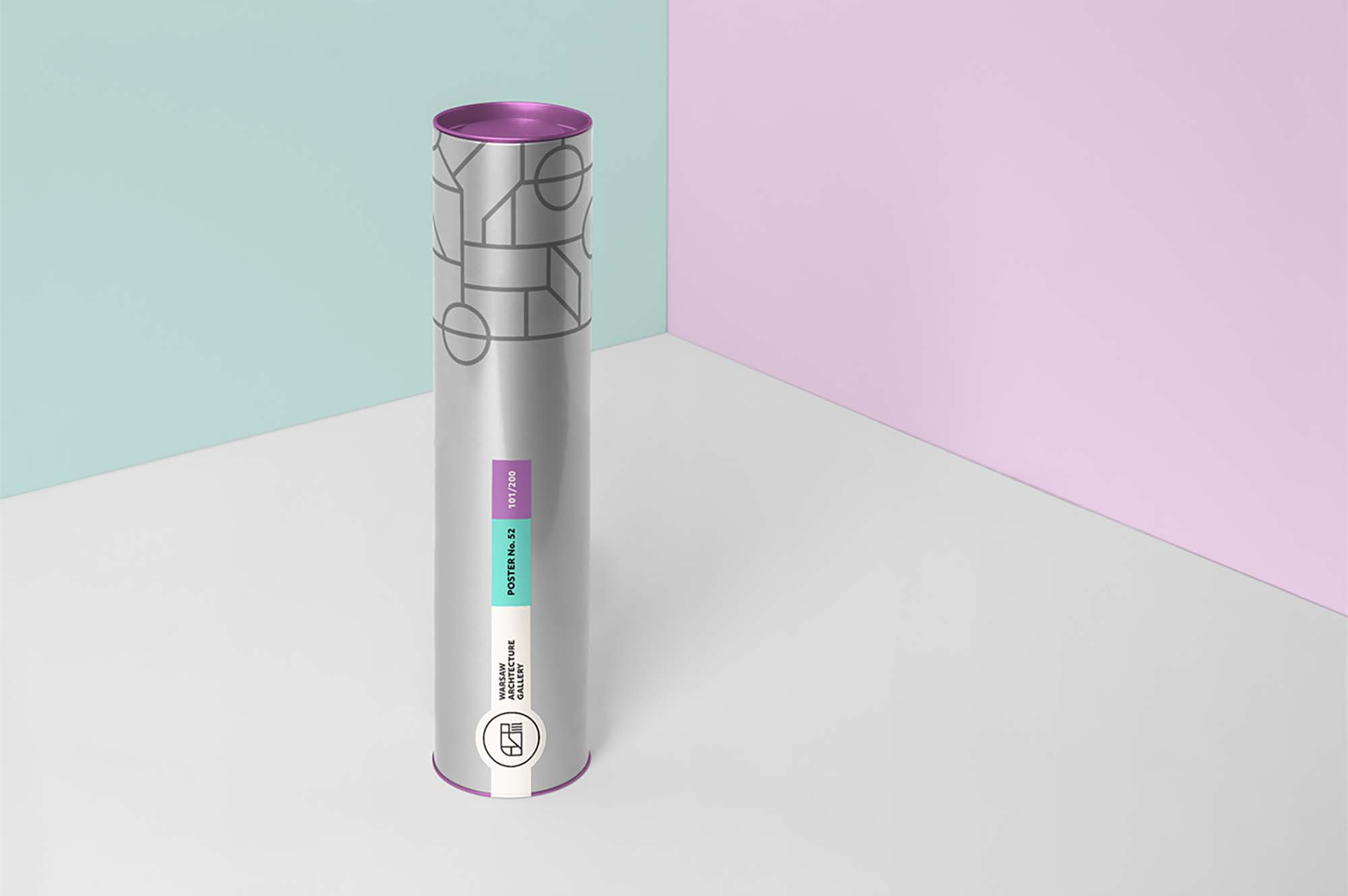 Tube Packaging Mockup