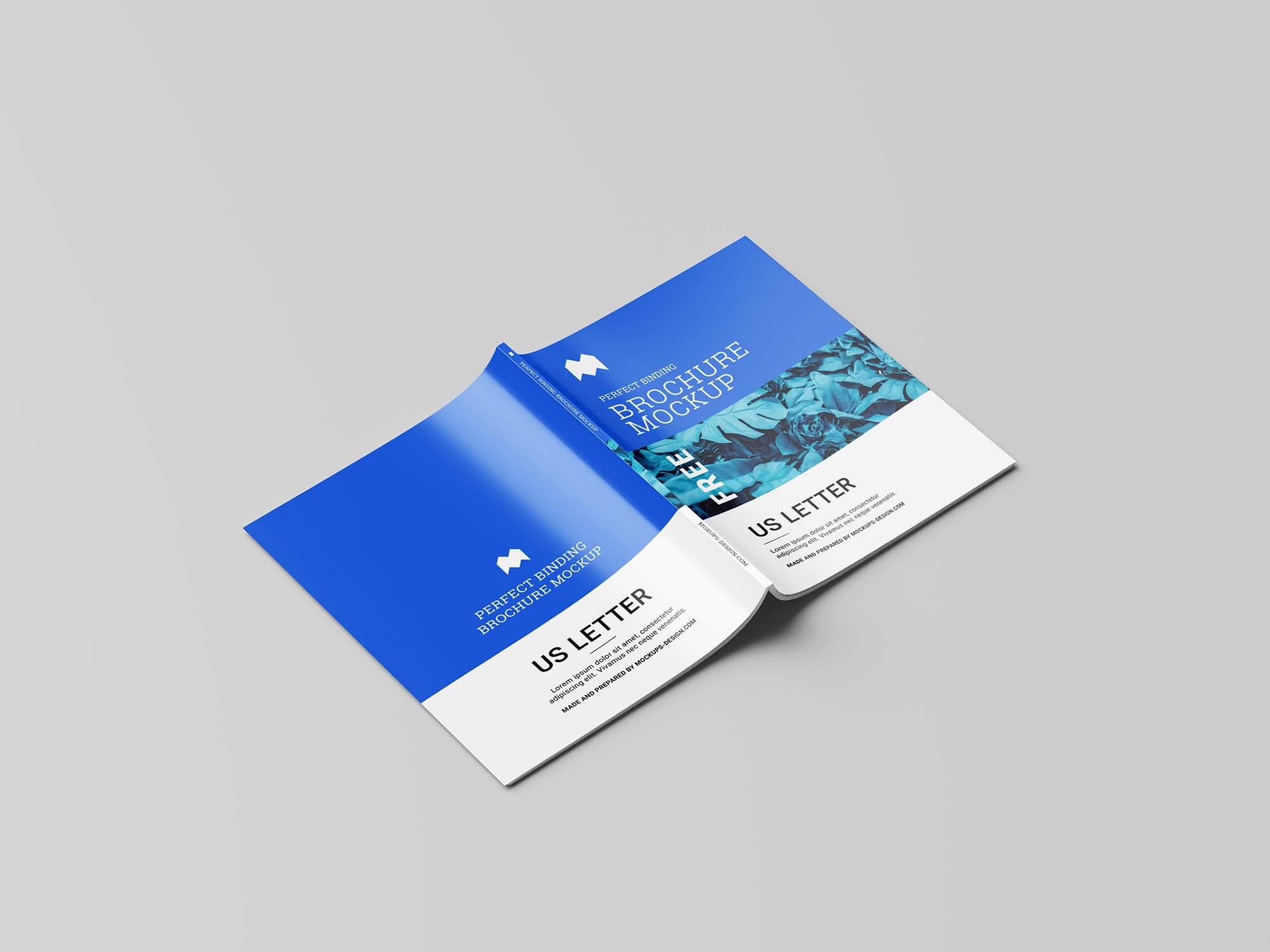 US Letter Brochure Mockup 1