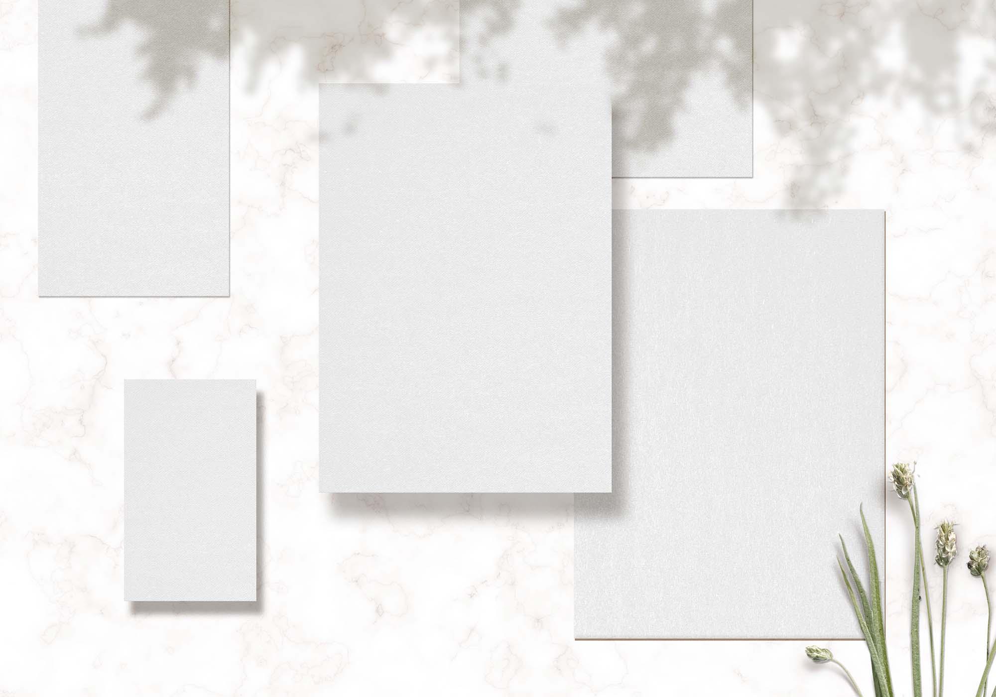 Wedding Cards Mockup 2