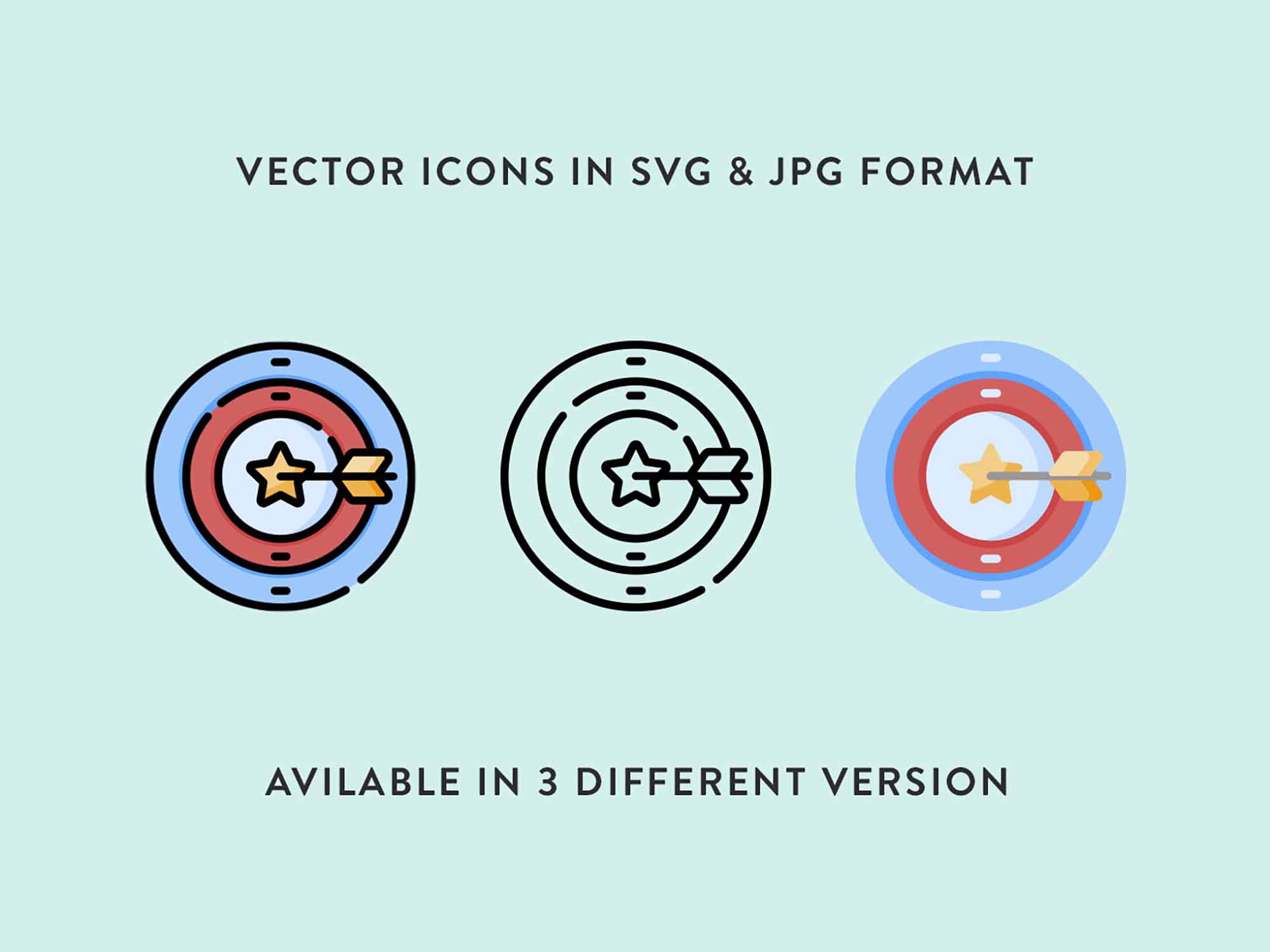 Wining Vector Icons 4