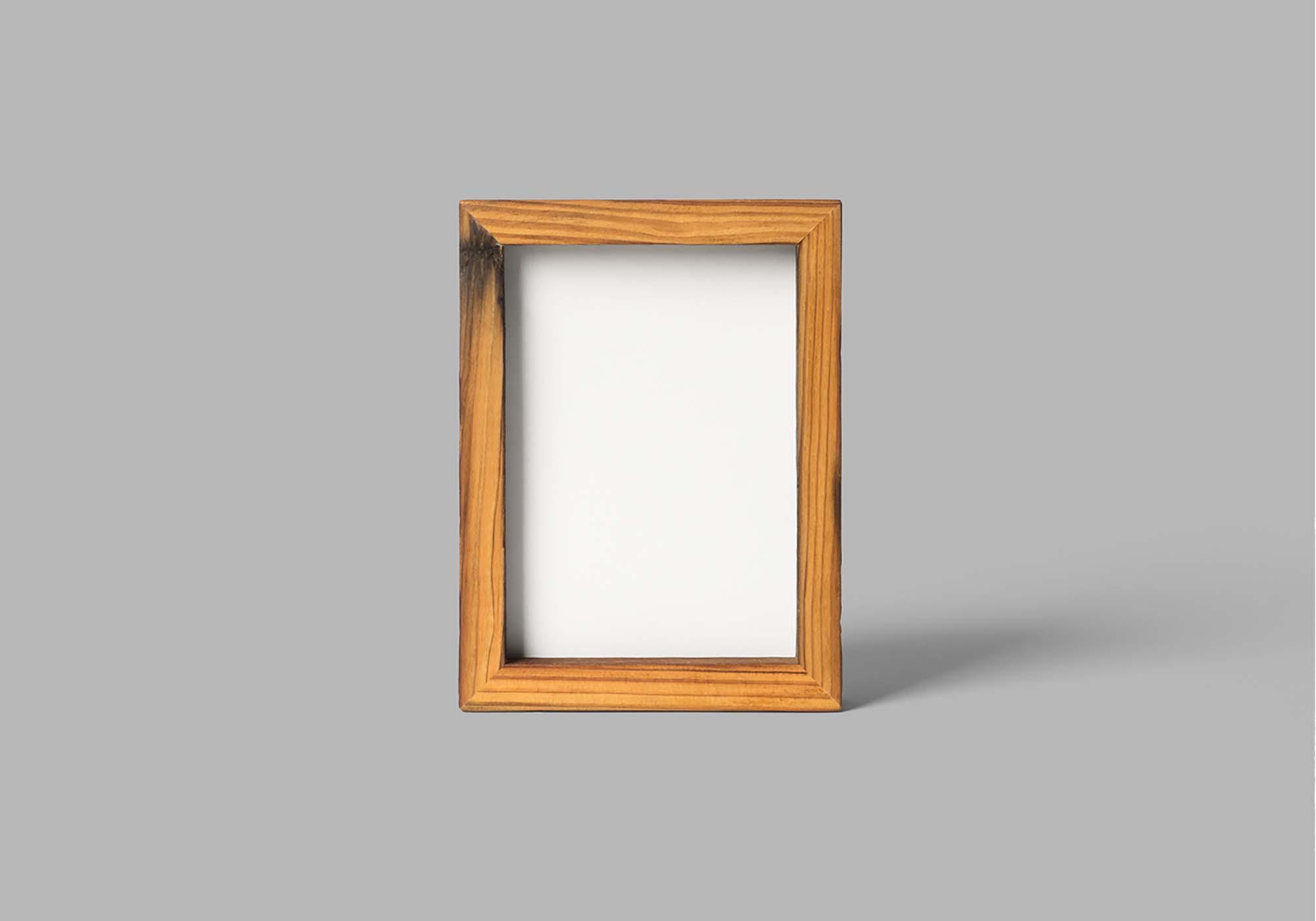 Wood Frame Mockup 2