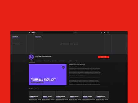 Youtube Channel Mockup