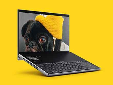ZenBook Pro Duo Mockup