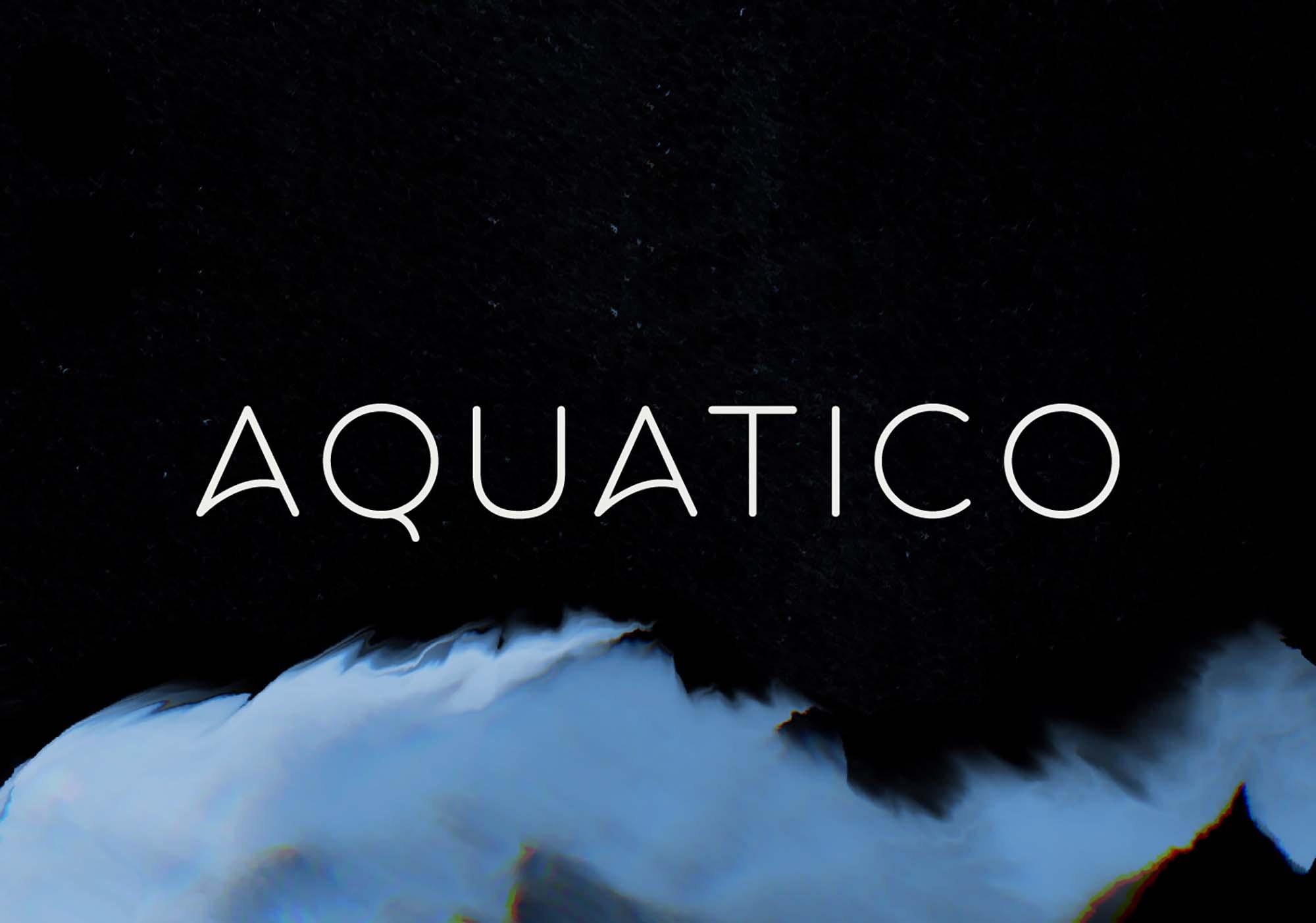 Aquatico Typeface