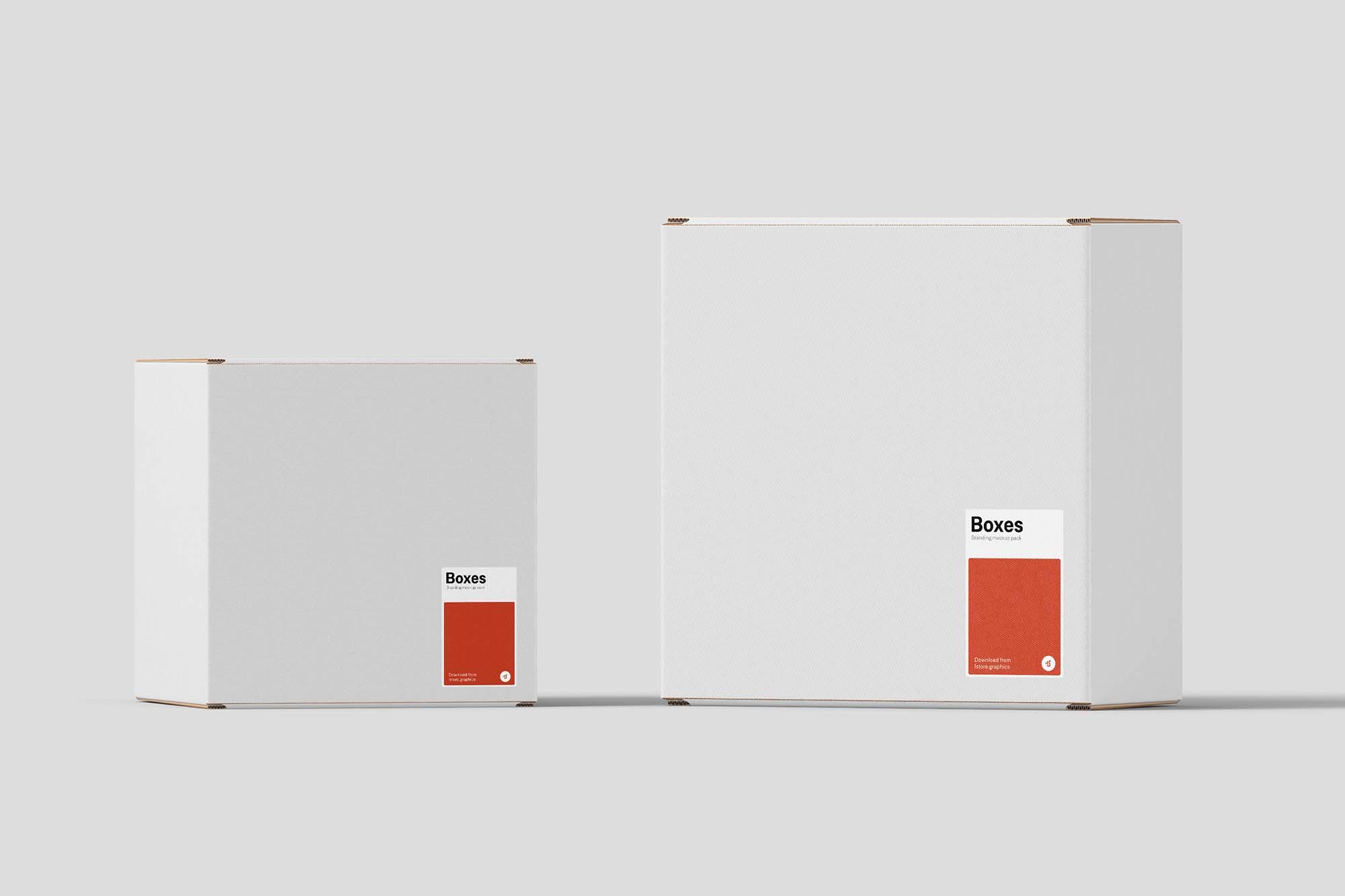 Boxes Mockup 2