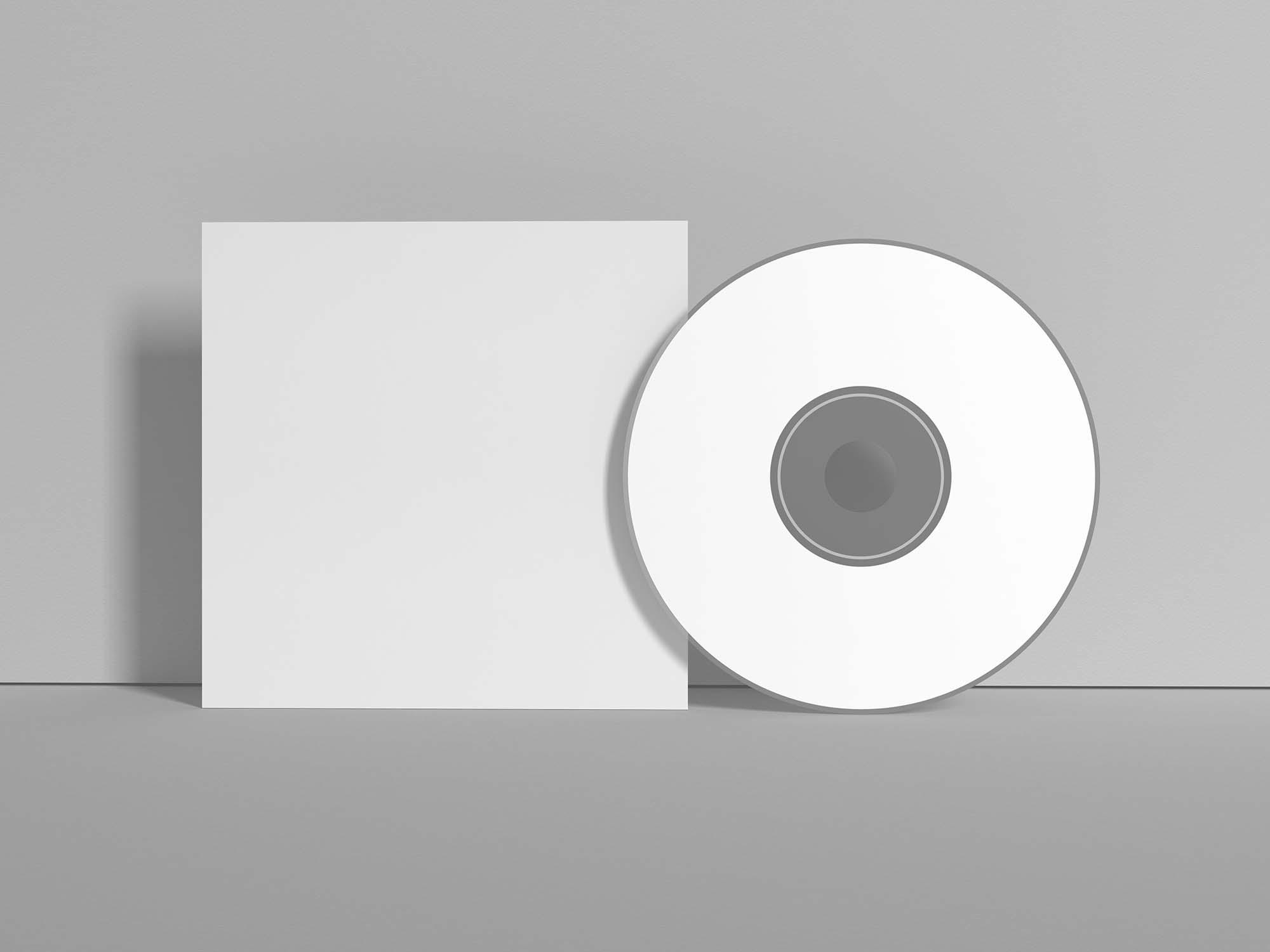 Branding CD Cover Mockup 3