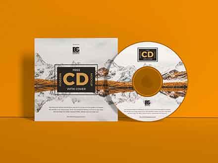 Branding CD Cover Mockup