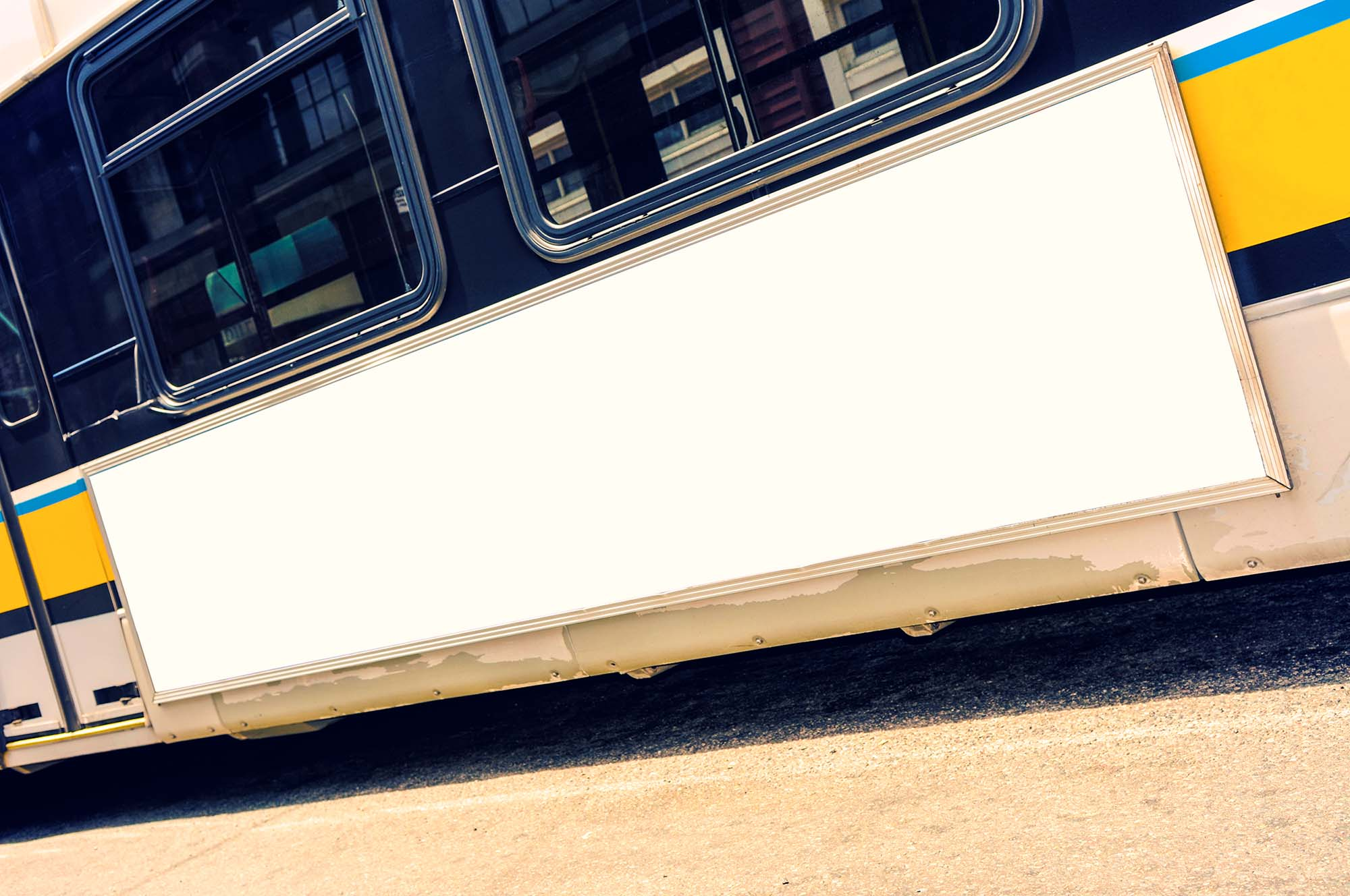 Bus Banner Mockup 2