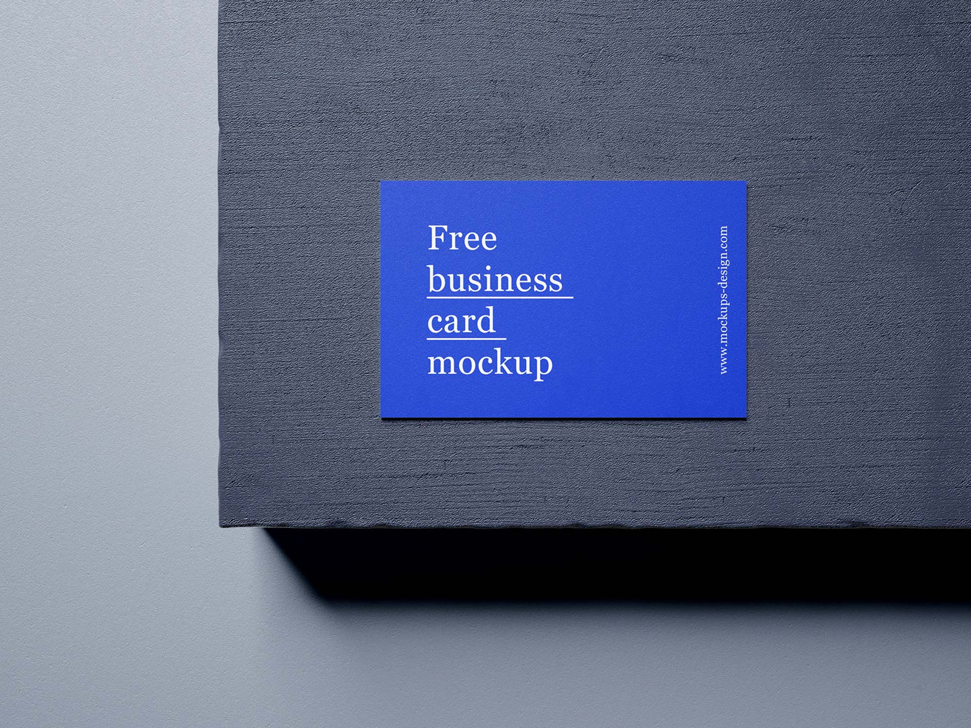 5 Business Card Mockups