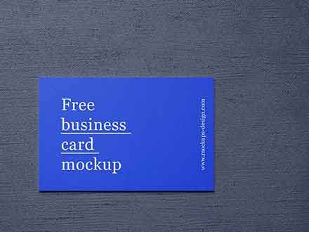 5 Business Card Mockups