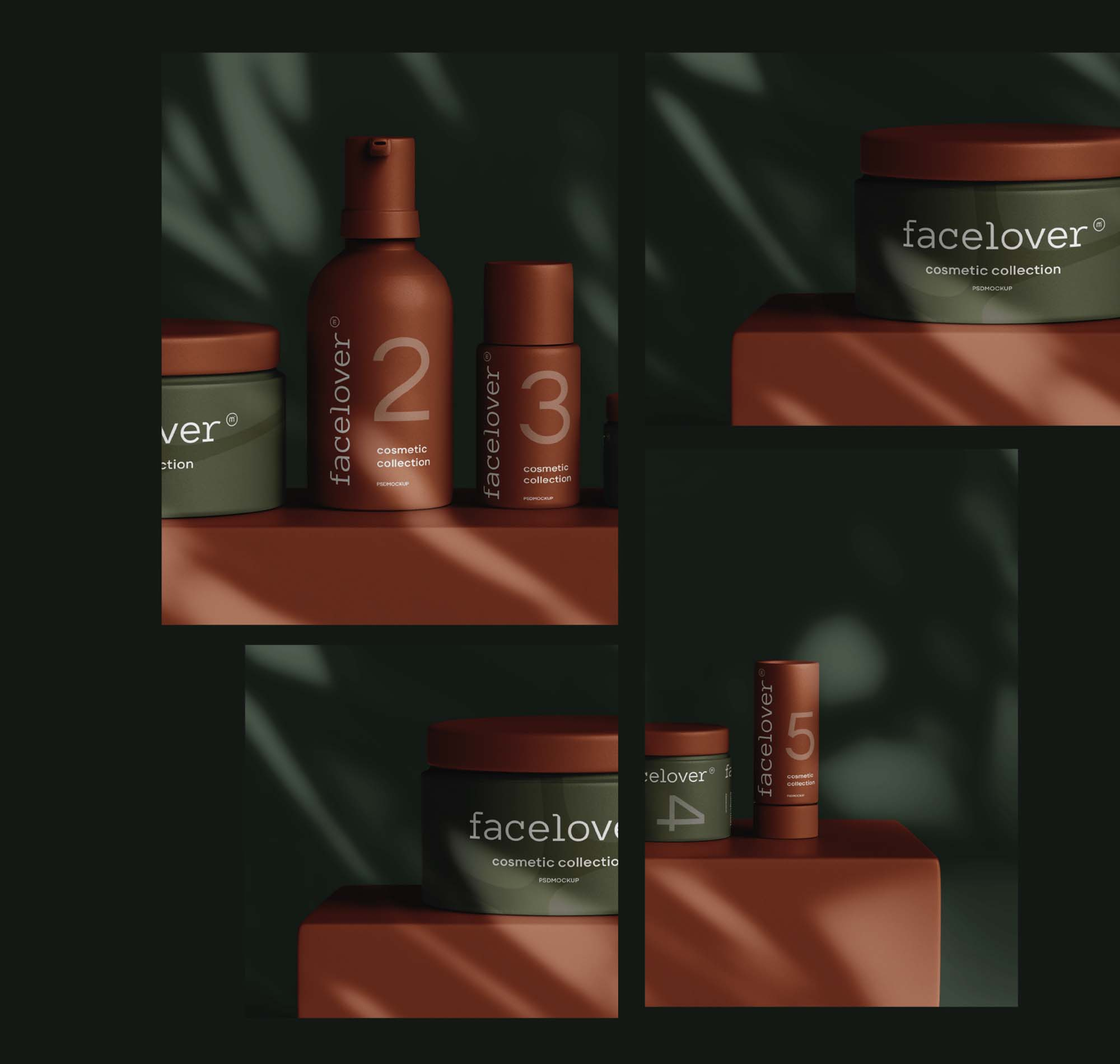 Cosmetic Products Mockup 3