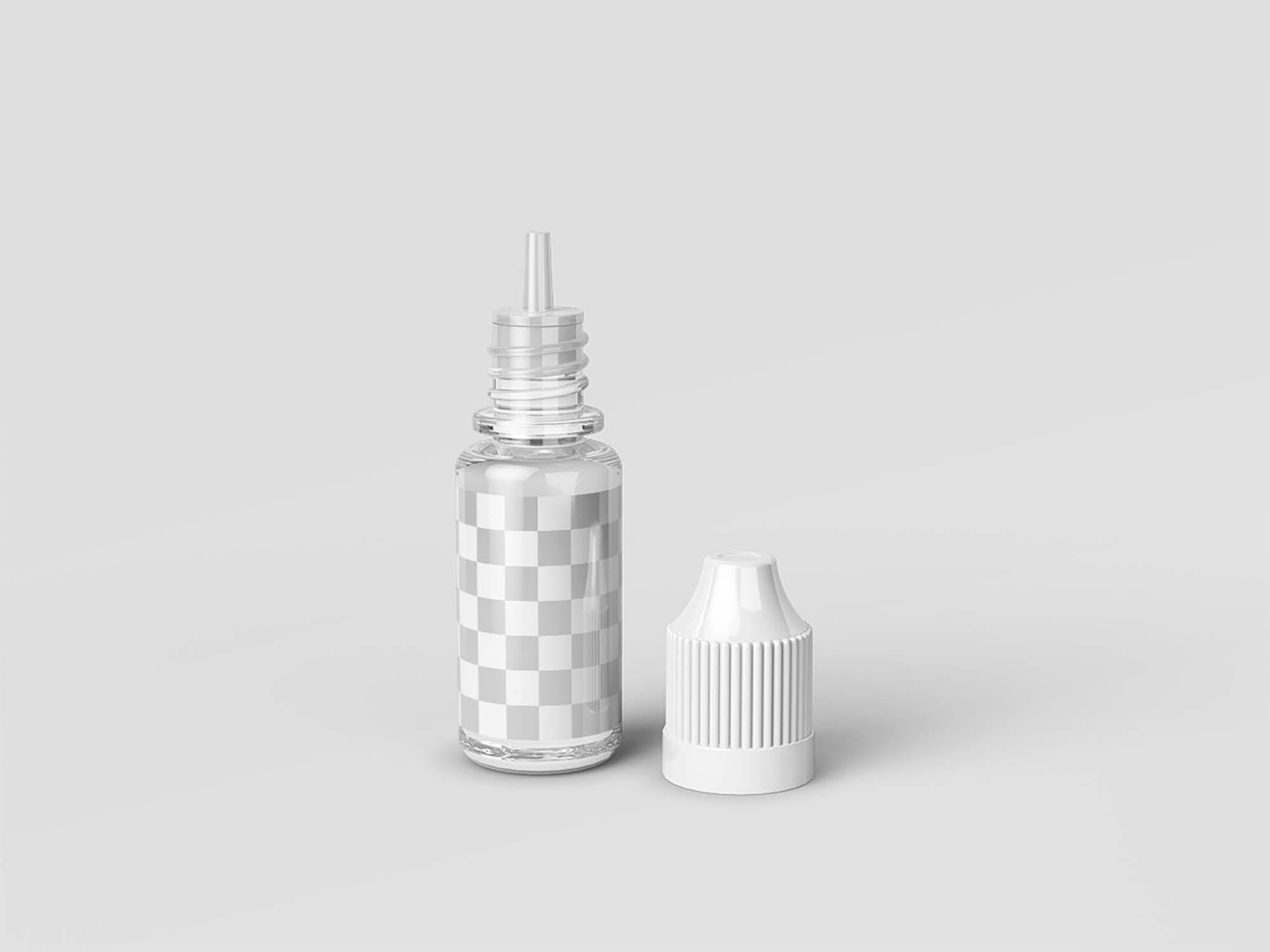 E-Juice Dropper Bottle Mockup 2