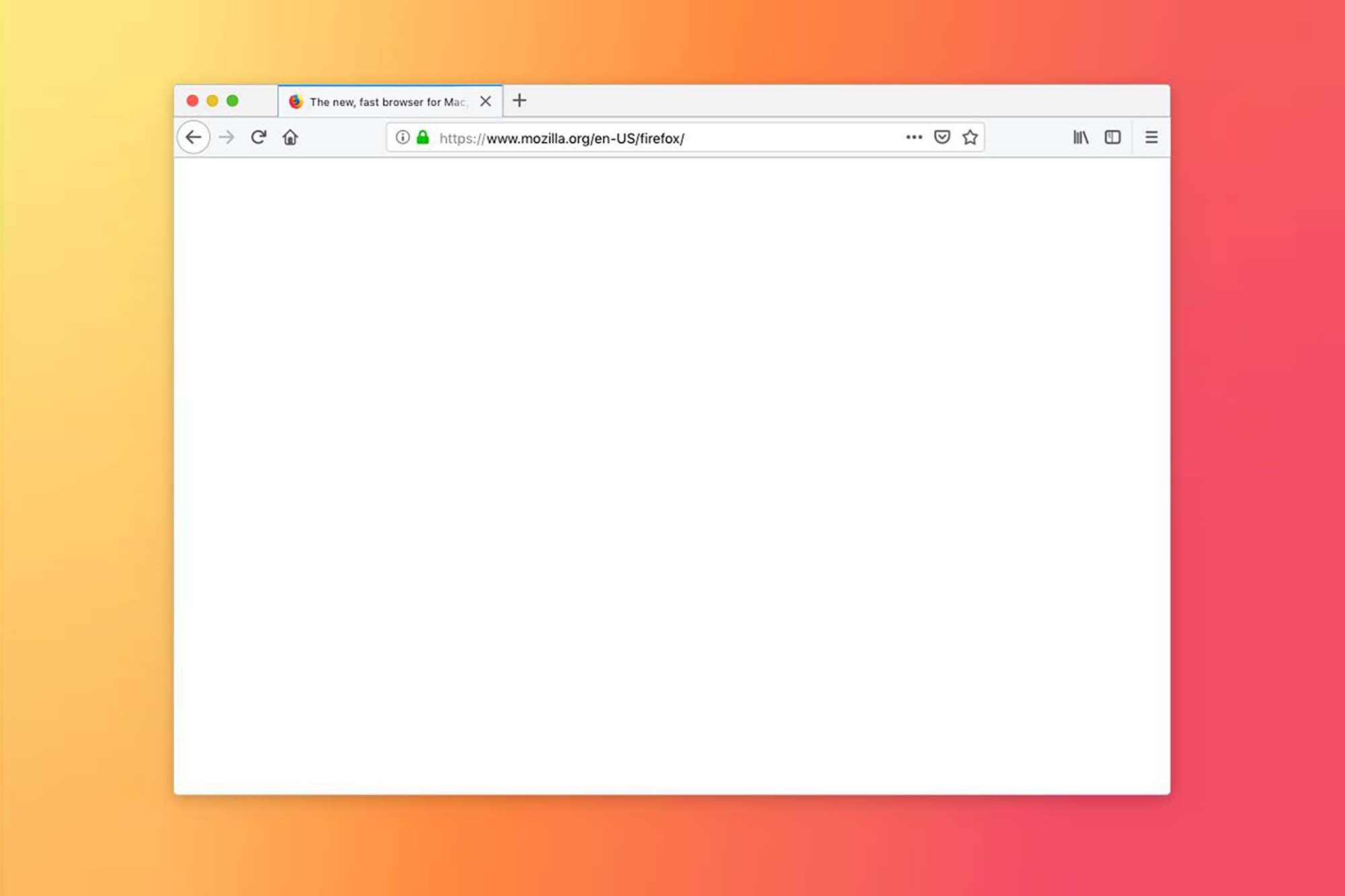 Firefox Browser Mockup Sketch 2