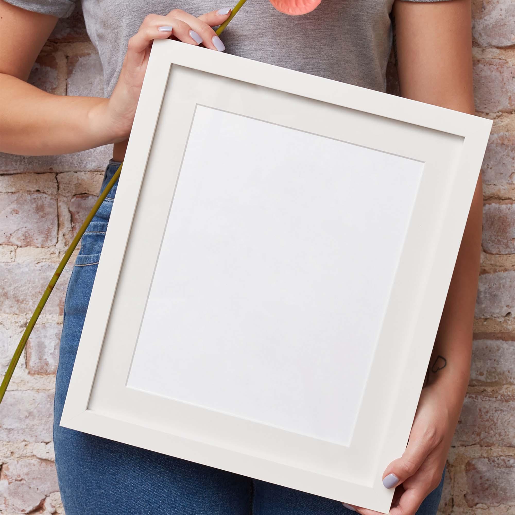 Hand Holding Frame Mockup 2