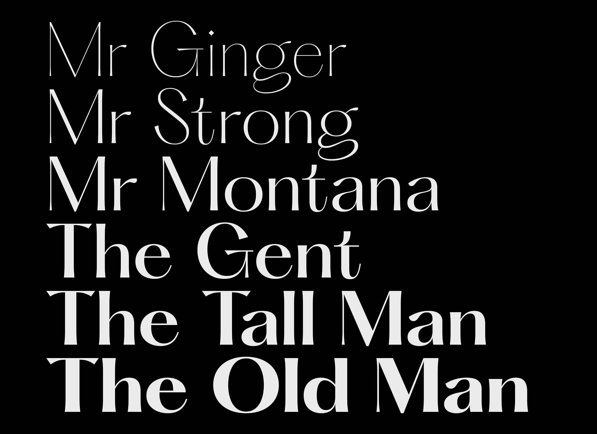 Hatton Typeface 1