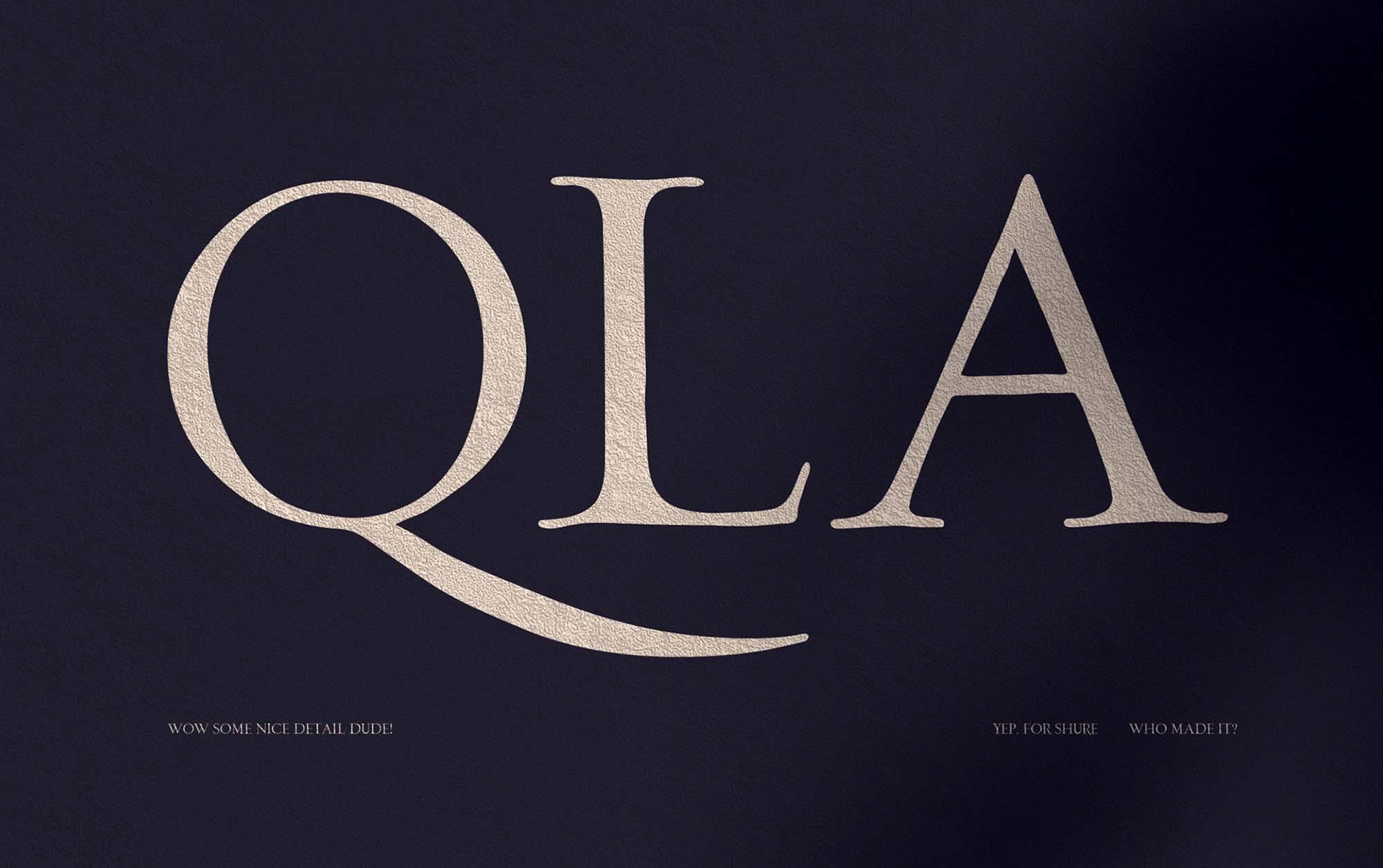 Loki Serif Font 2