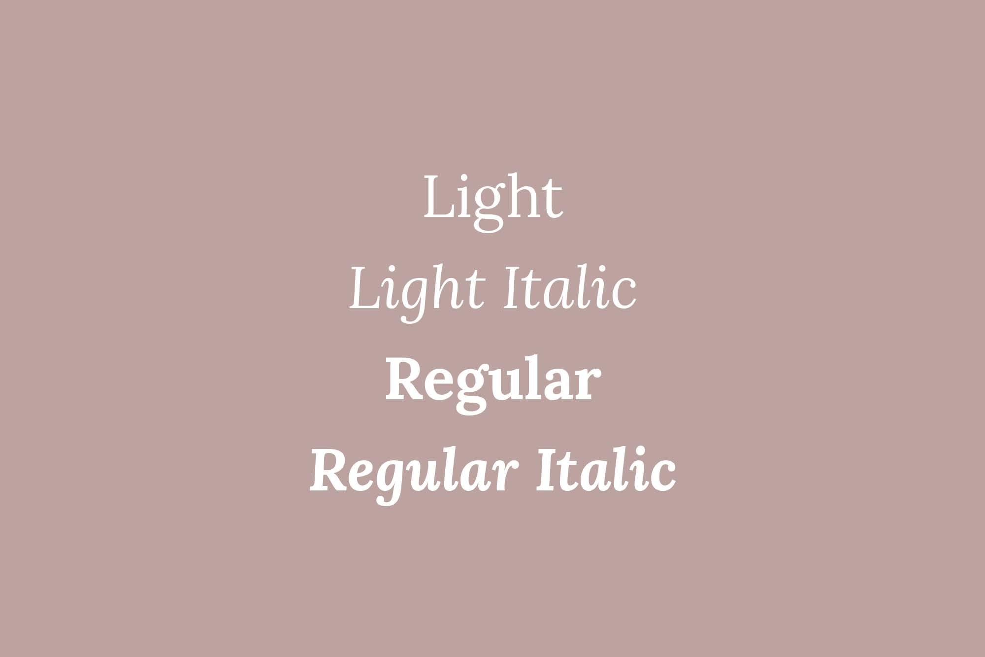 Lora Cyrillic Serif Font 2
