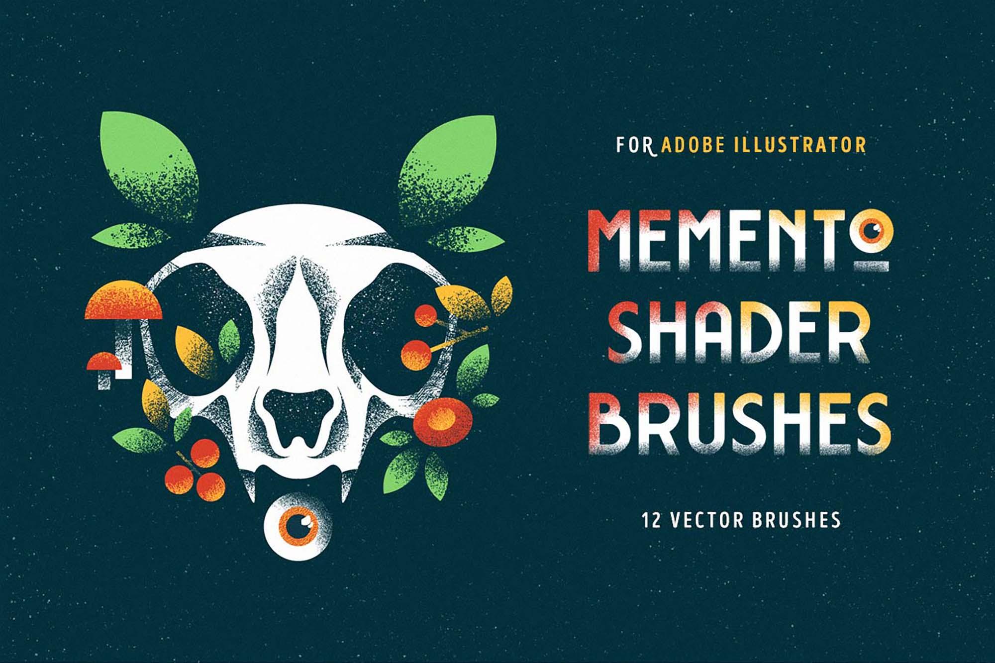 Memento Shader Illustrator Brushes