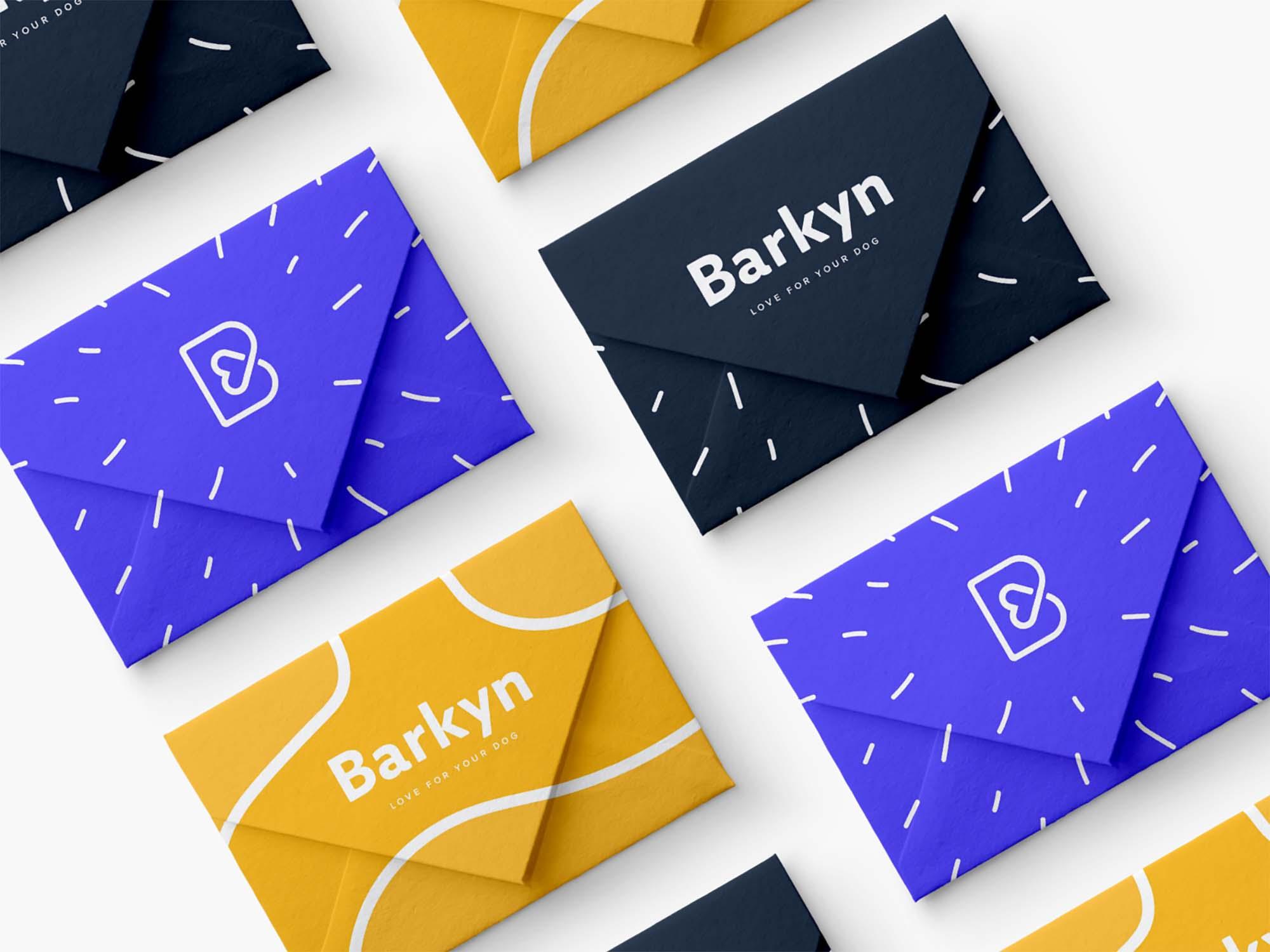 Mini Envelopes Mockup