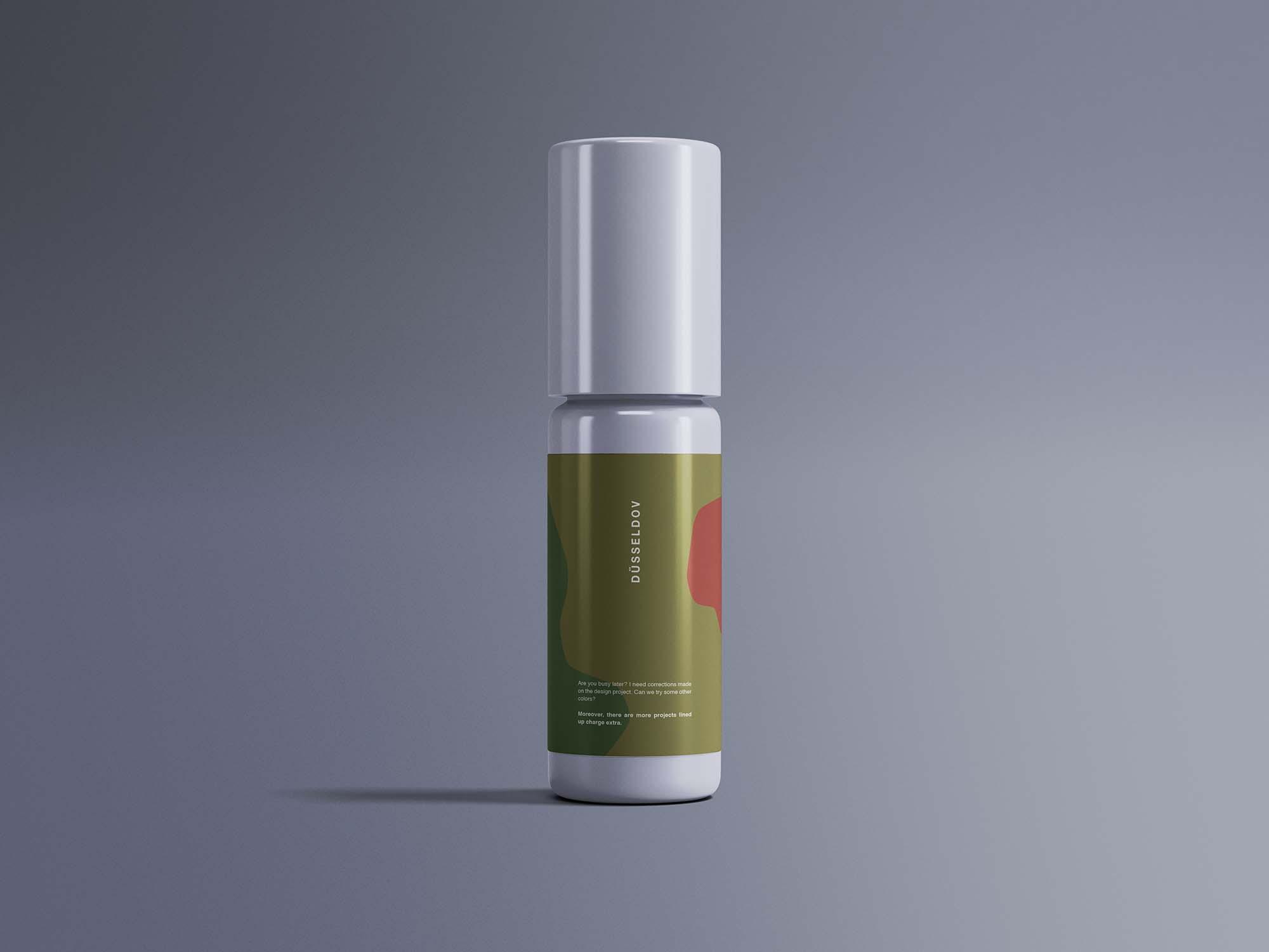 Multipurpose Mini Bottle Mockup 2