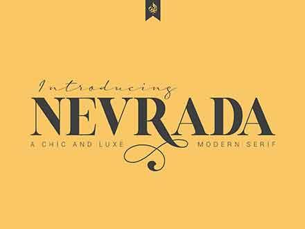 Nervada Serif Font
