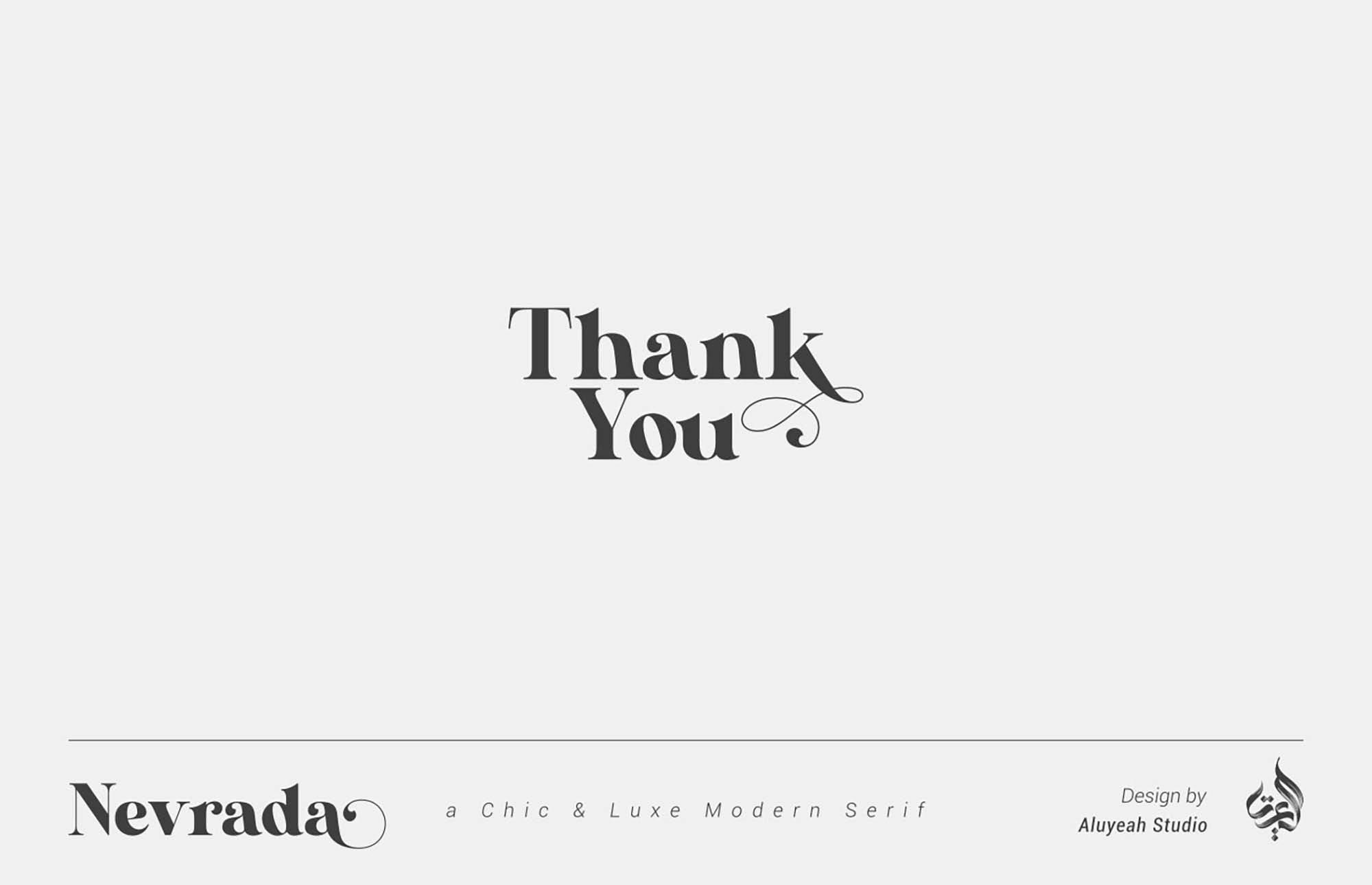Nervada Serif Font 9