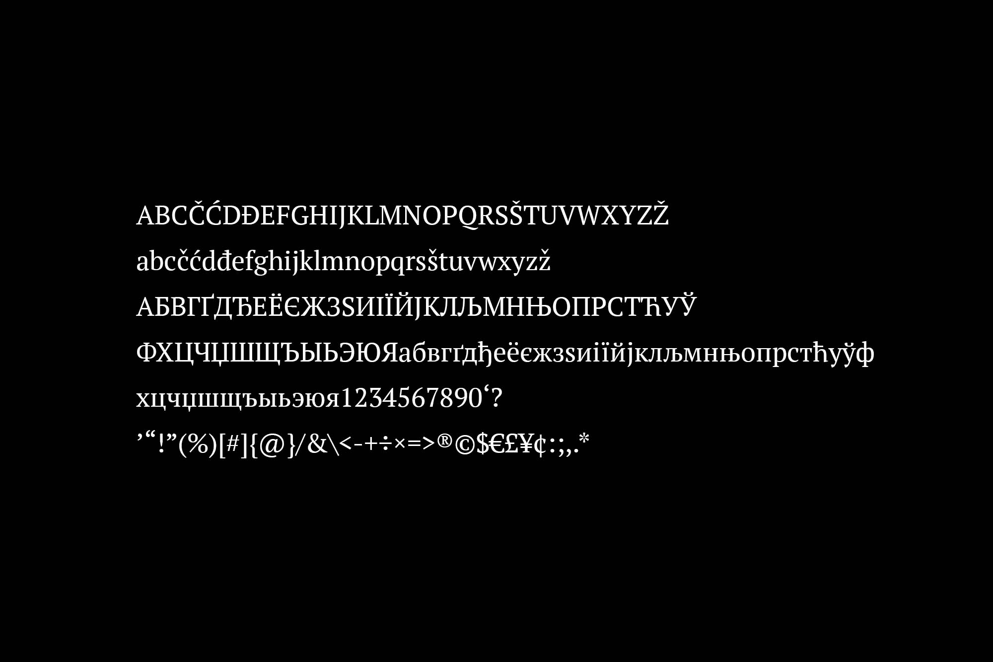 PT Serif Font 2