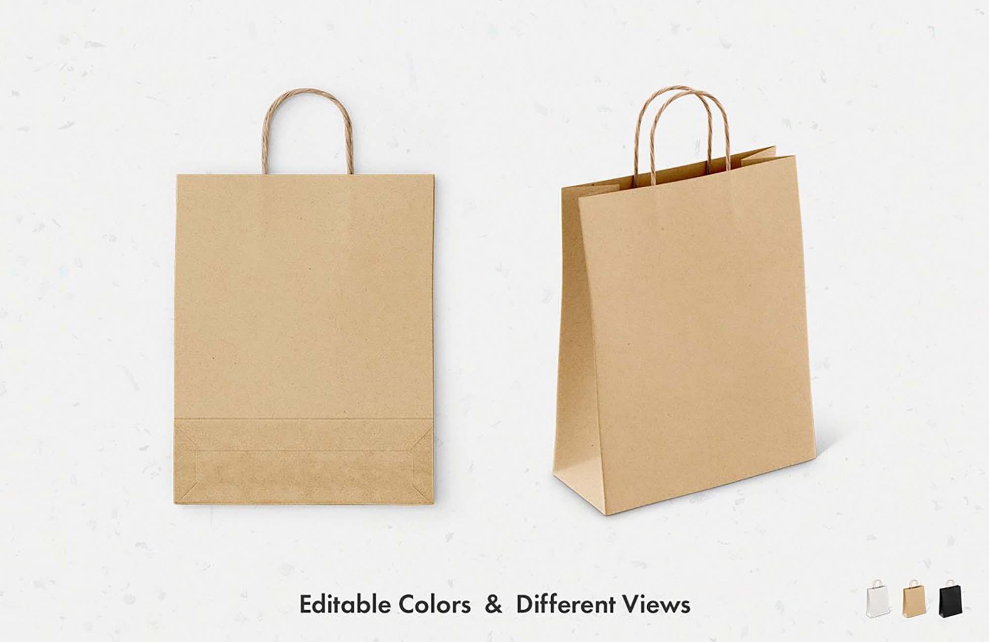 Paper Bag Mockup 2