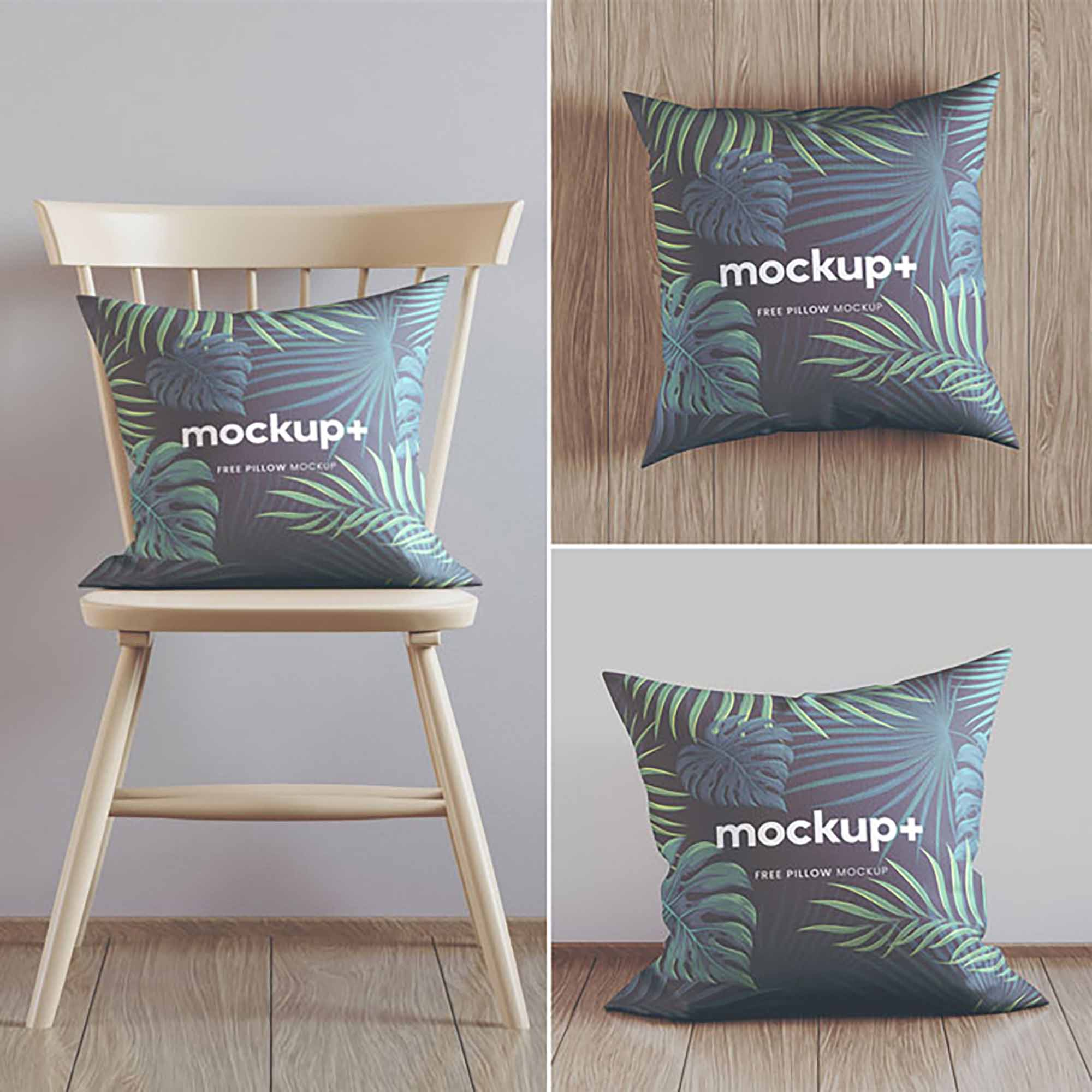 Pillow on Chair Mockup 2
