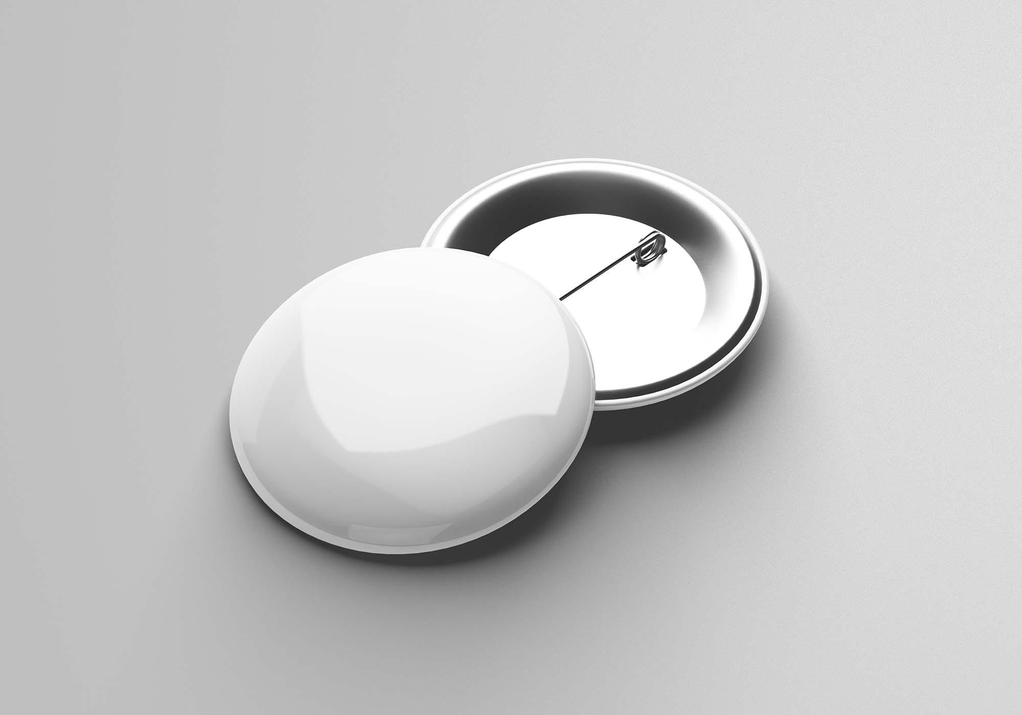 Pin Button Badge Mockup 2