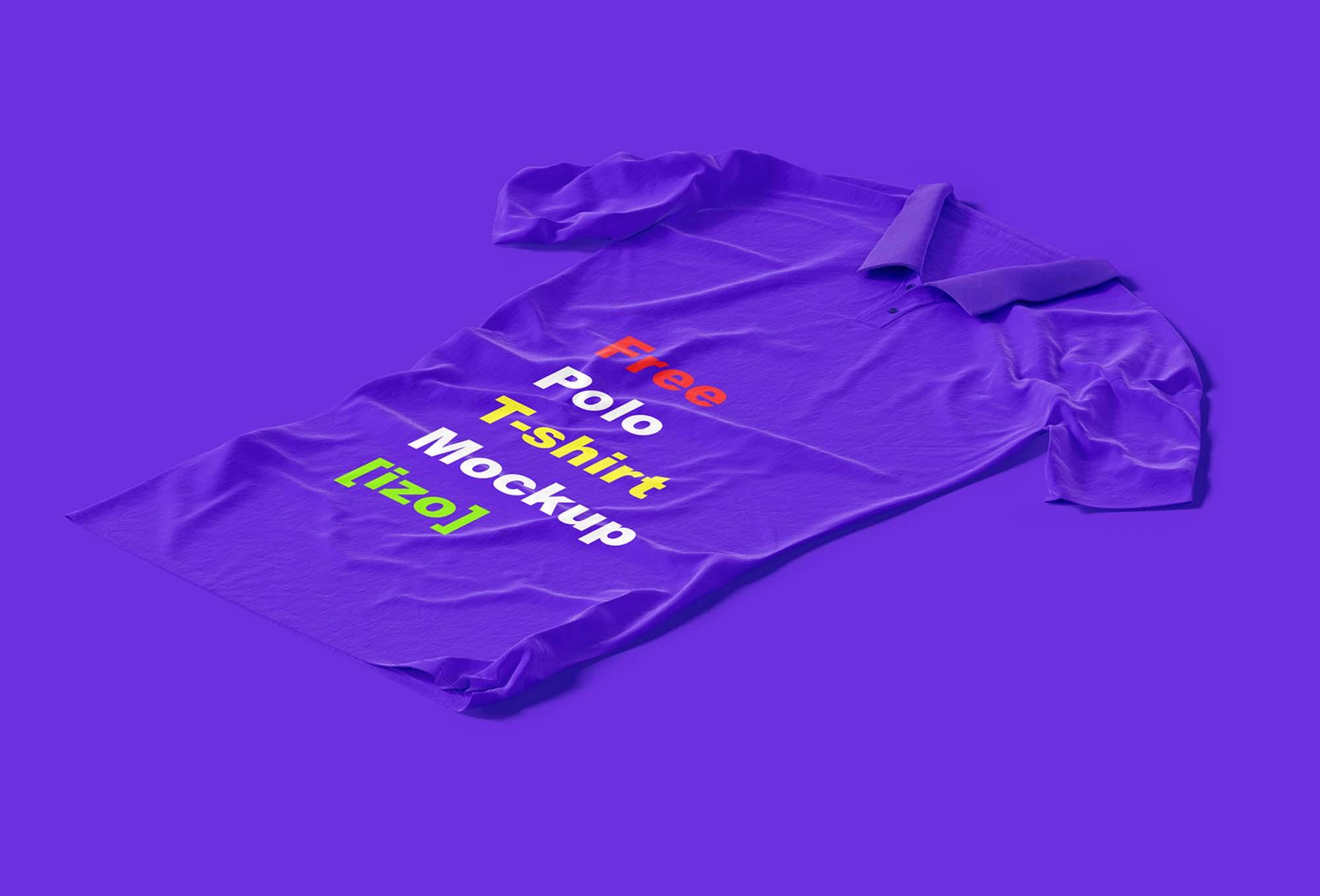 Polo T-shirt Mockup 1