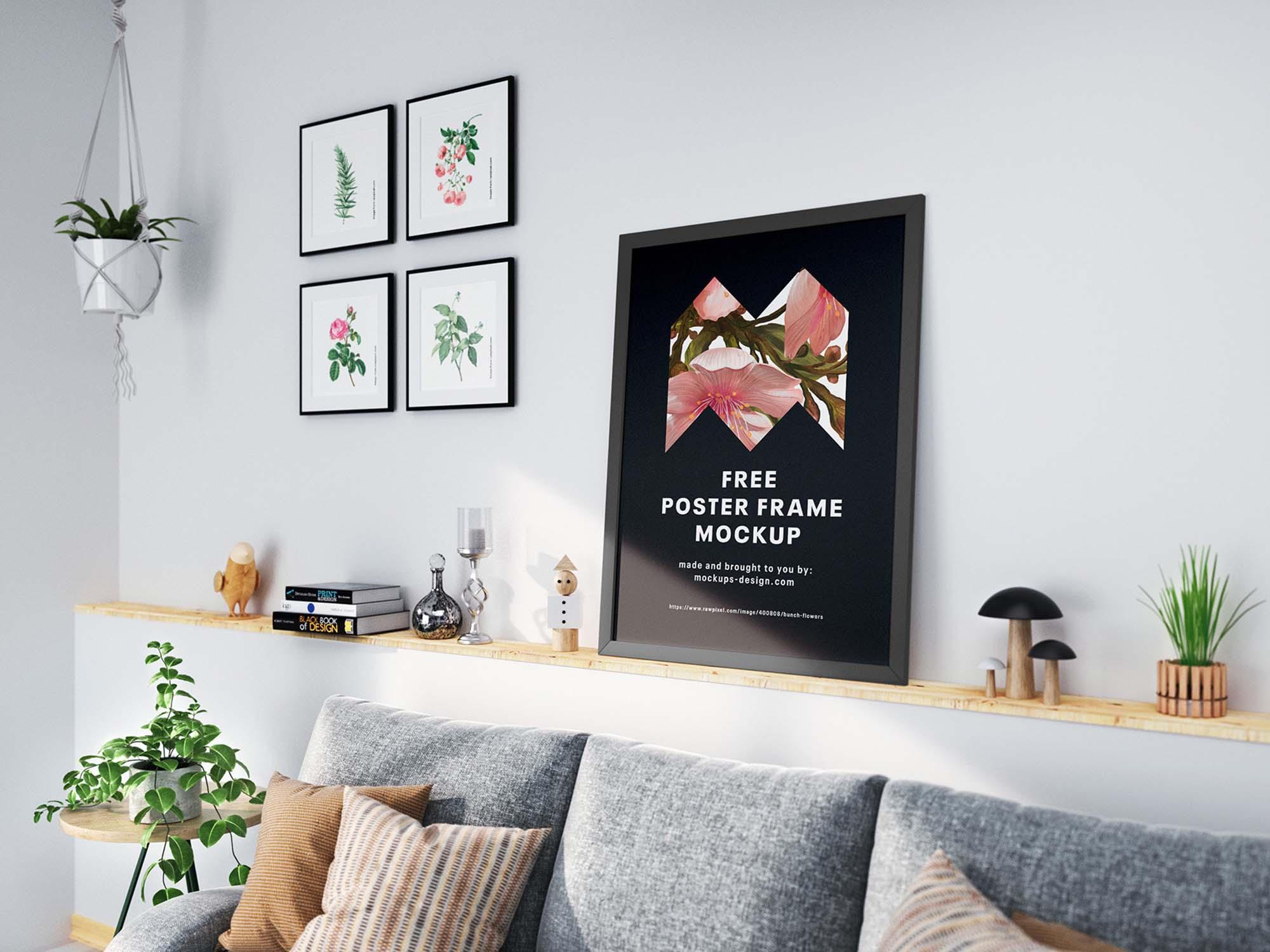 Poster Frames Mockup 2