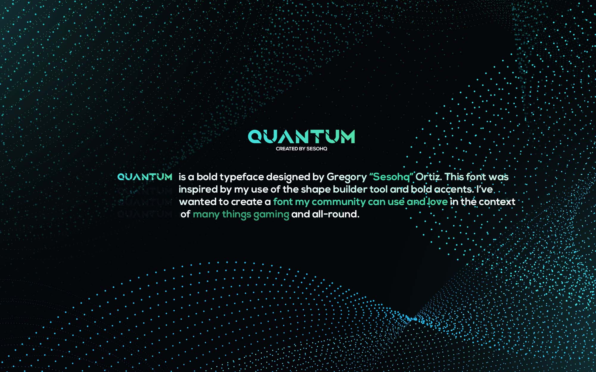 Quantum Font Body Text