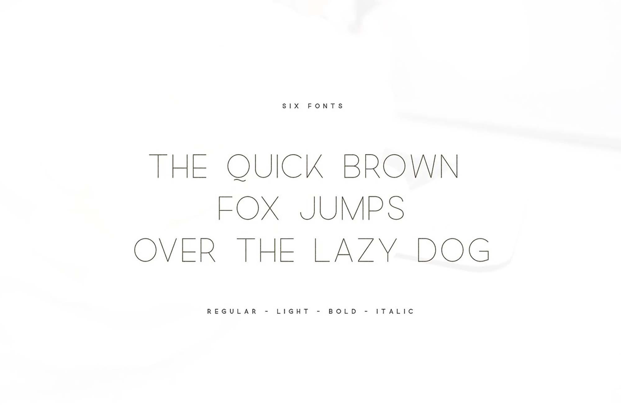 Quick Sans Serif Font 5