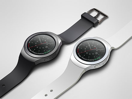Samsung Gear S2 Watch Mockup